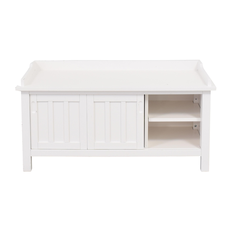 buy Crate & Barrel Crate & Barrel Brighton Storage Bench online