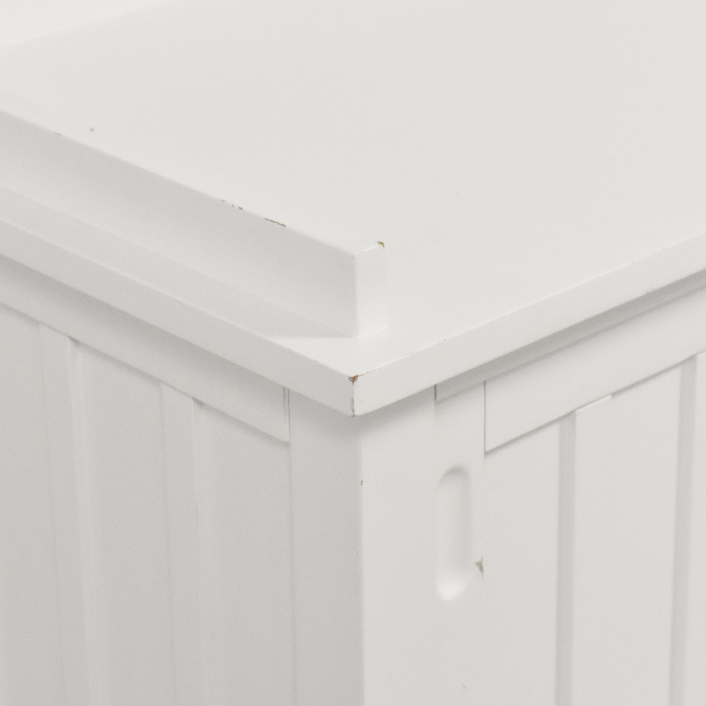 Crate & Barrel Crate & Barrel Brighton Storage Bench on sale