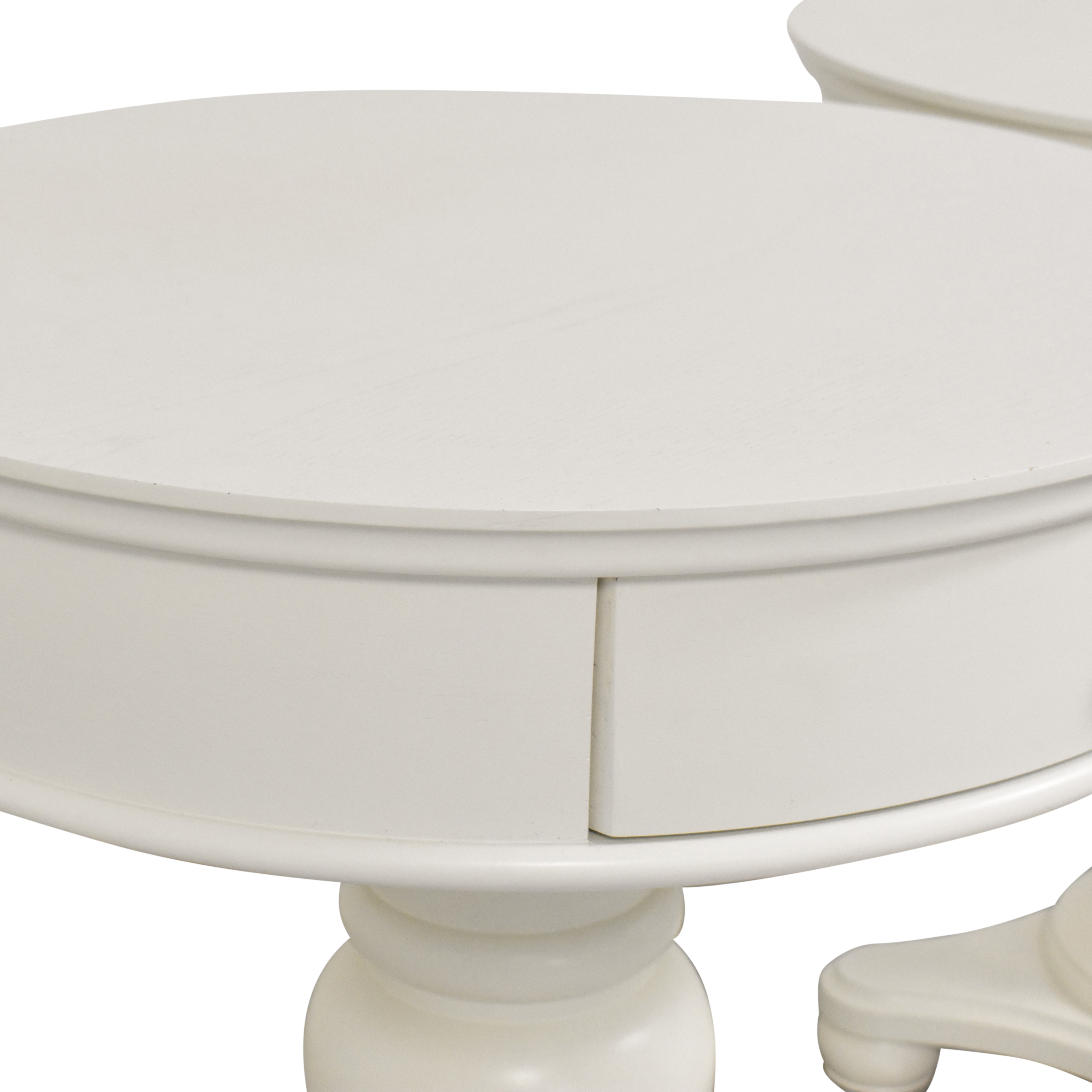 Pottery Barn Francisco End Tables sale