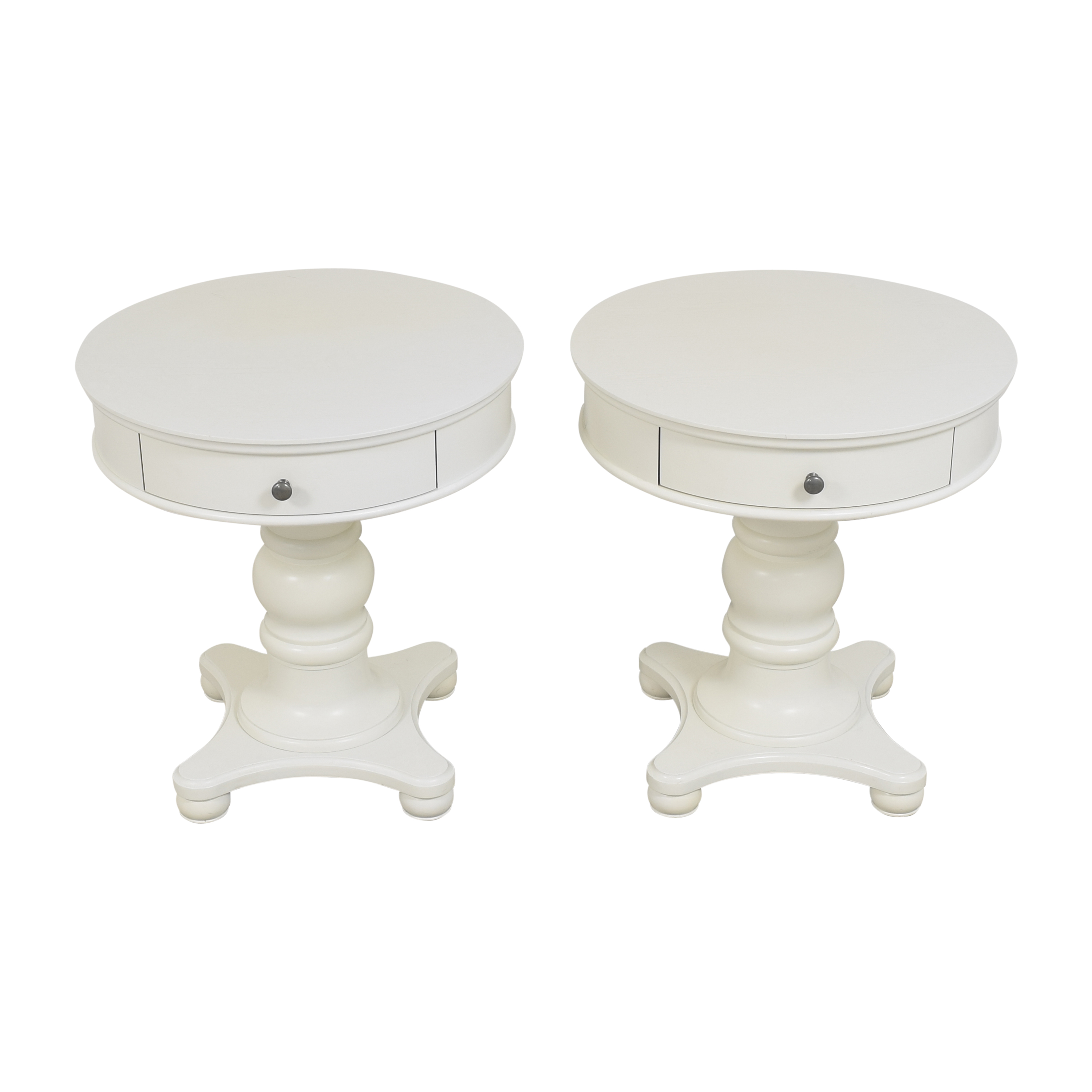 Pottery Barn Pottery Barn Francisco End Tables discount
