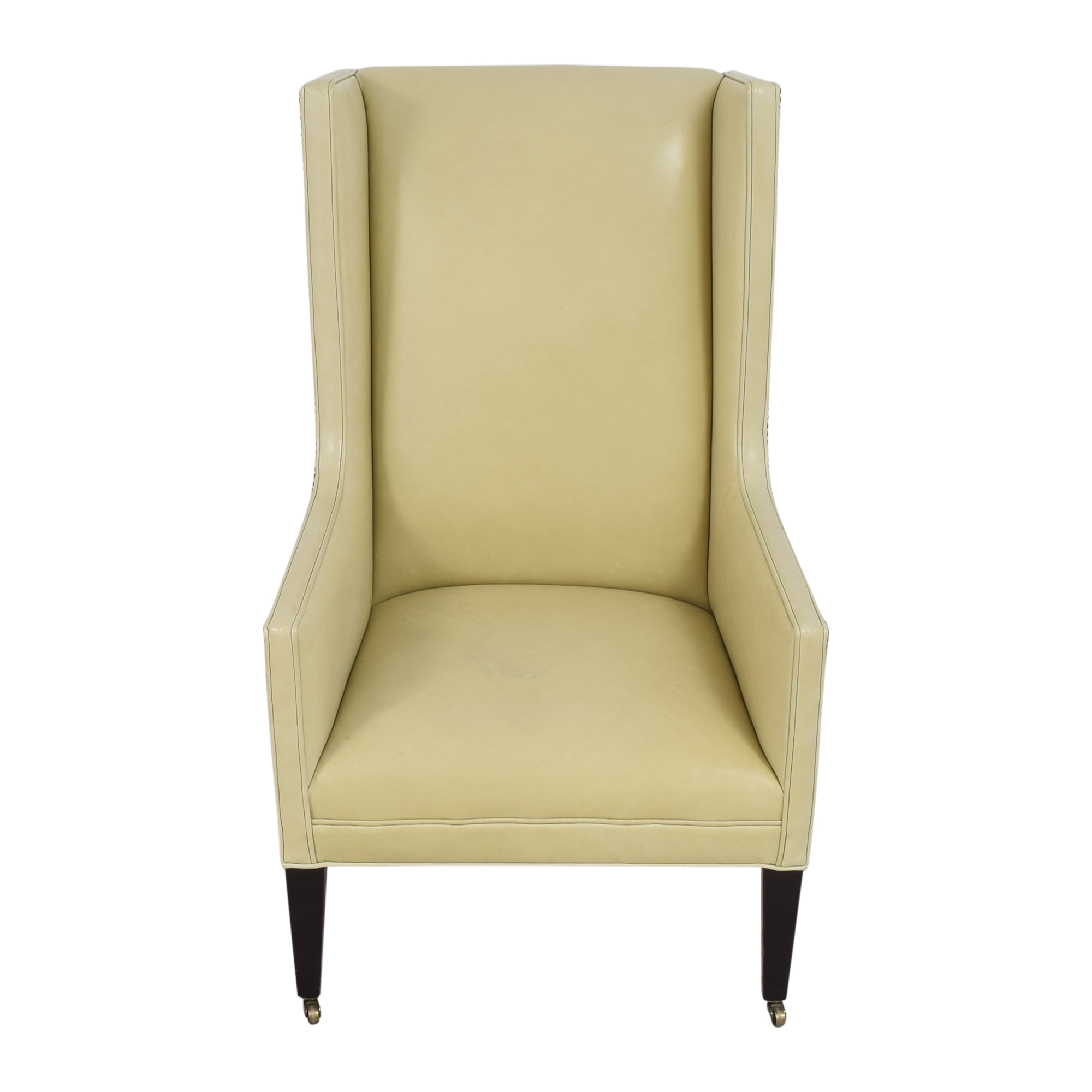 buy Crate & Barrel Wingback Chair Crate & Barrel Accent Chairs