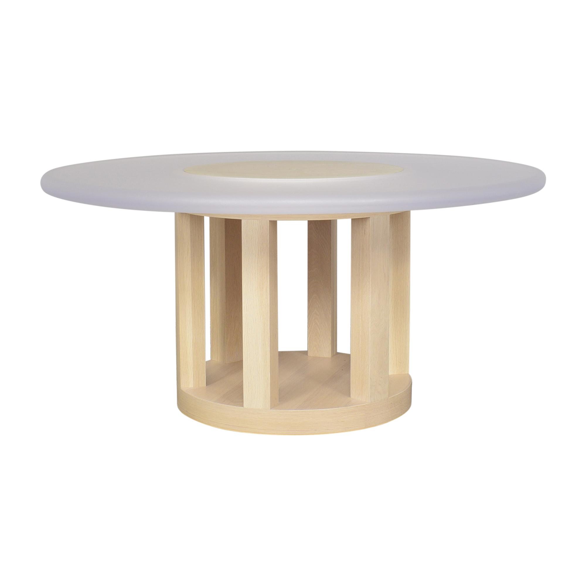 Benjamin Noriega-Ortiz Custom Round Dining Table pa