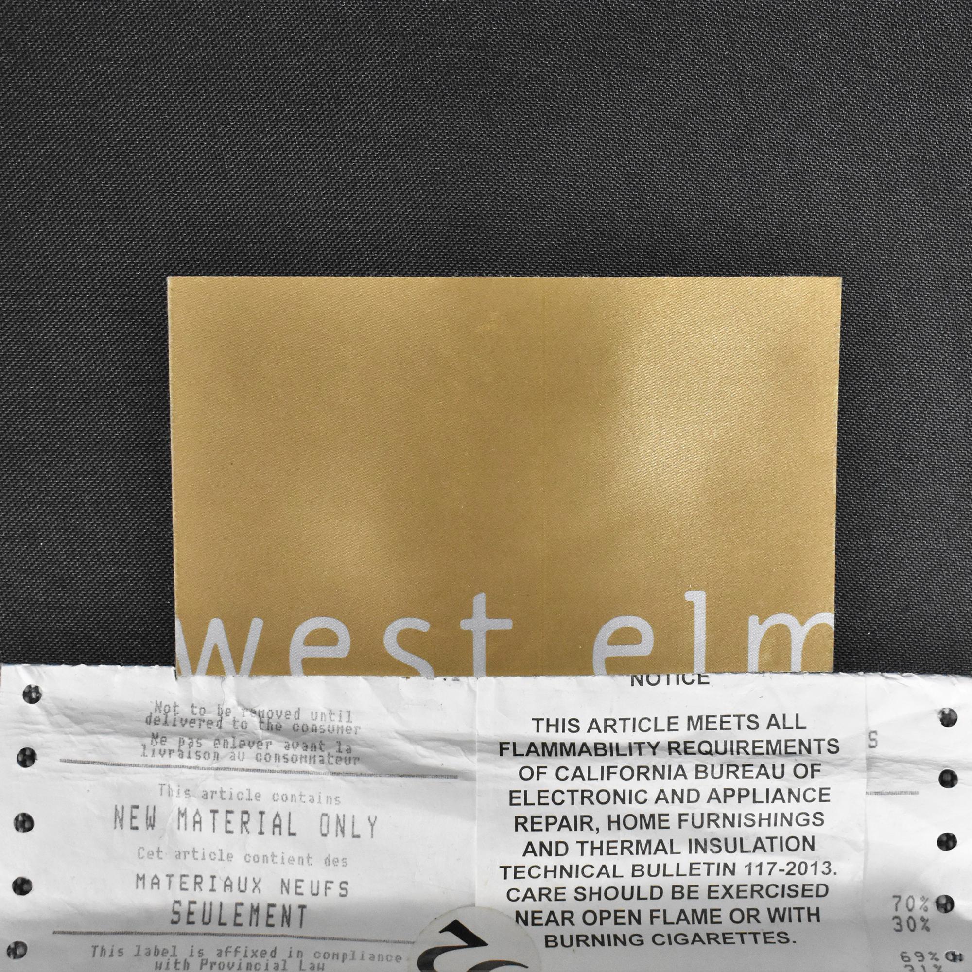 West Elm West Elm Modern Shelter Sofa for sale