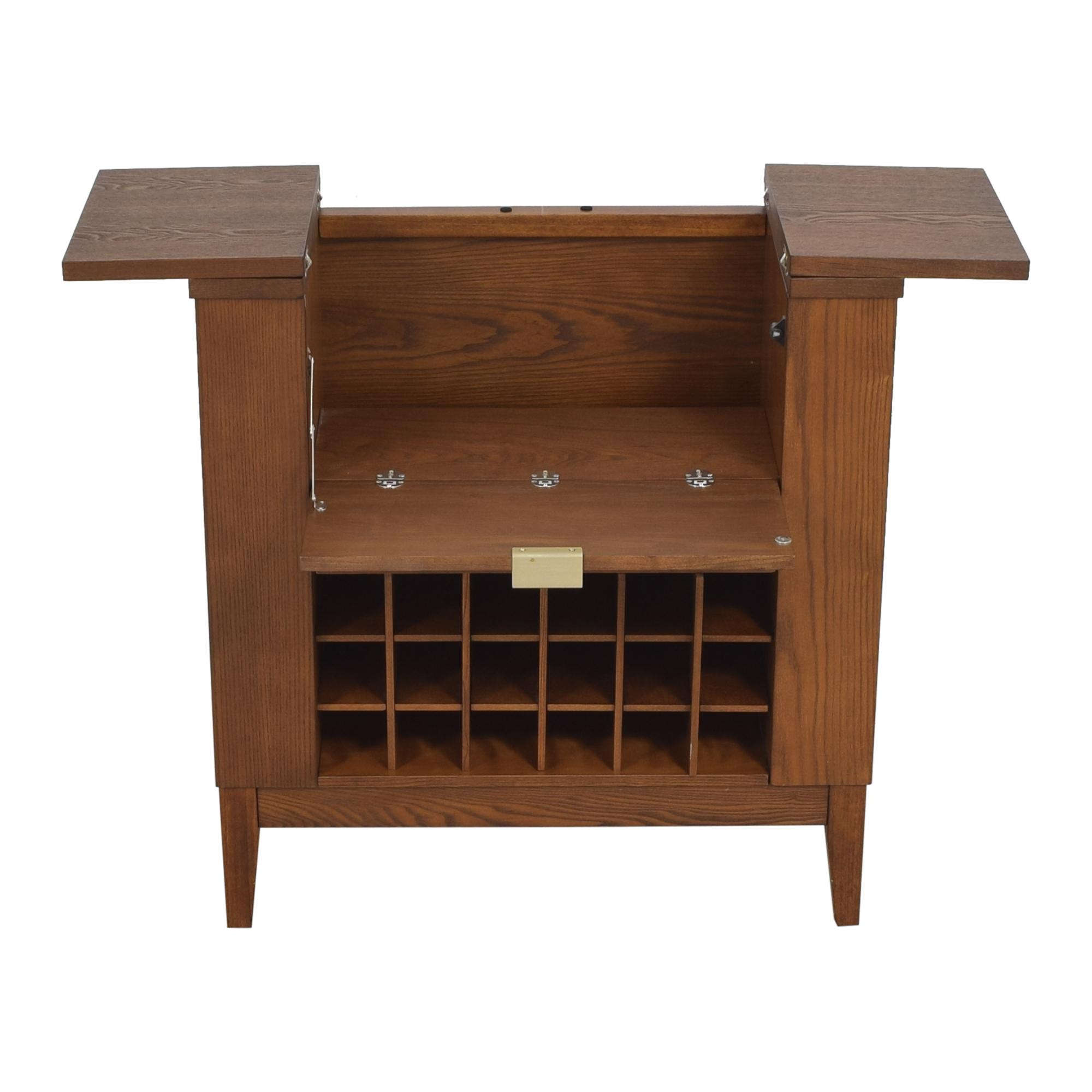 Crate & Barrel Crate & Barrel Parker Spirits Bourbon Cabinet used