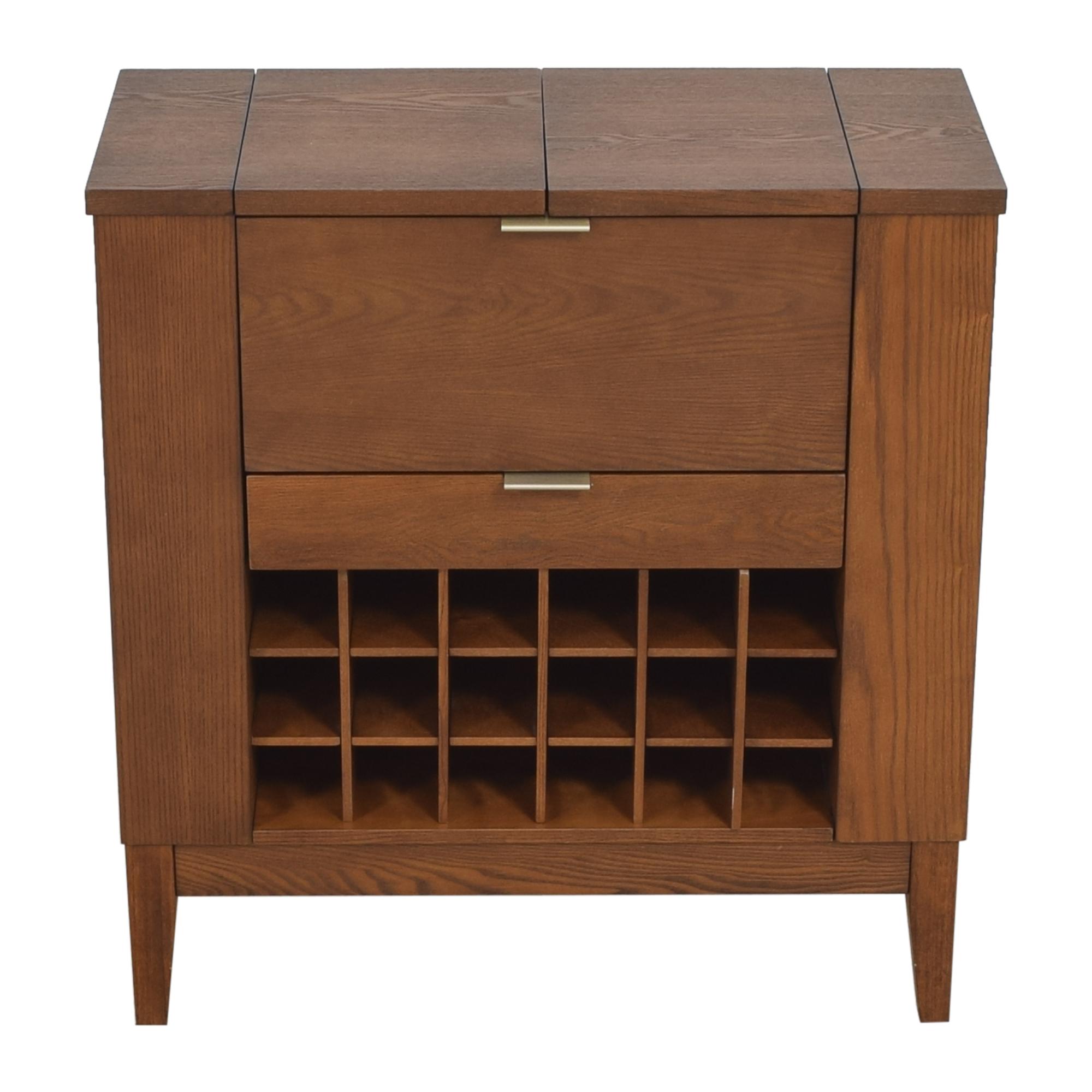 Crate & Barrel Crate & Barrel Parker Spirits Bourbon Cabinet on sale