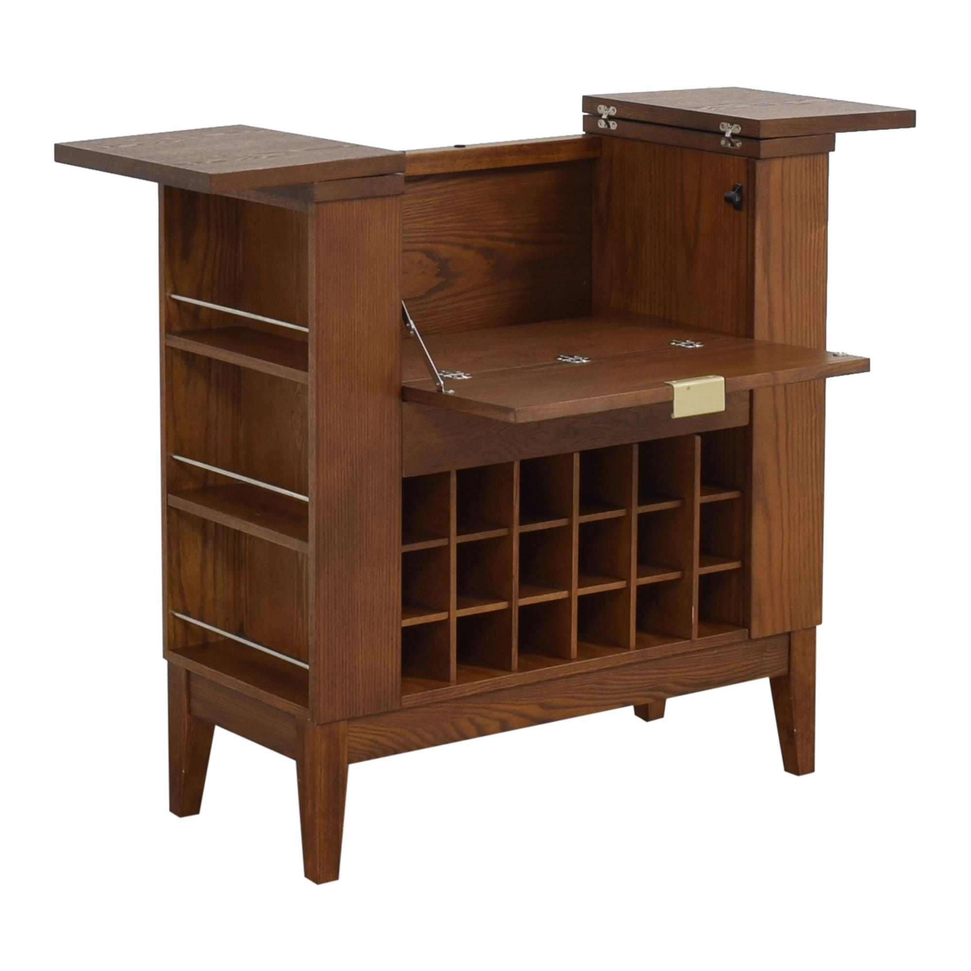 buy Crate & Barrel Parker Spirits Bourbon Cabinet Crate & Barrel Storage