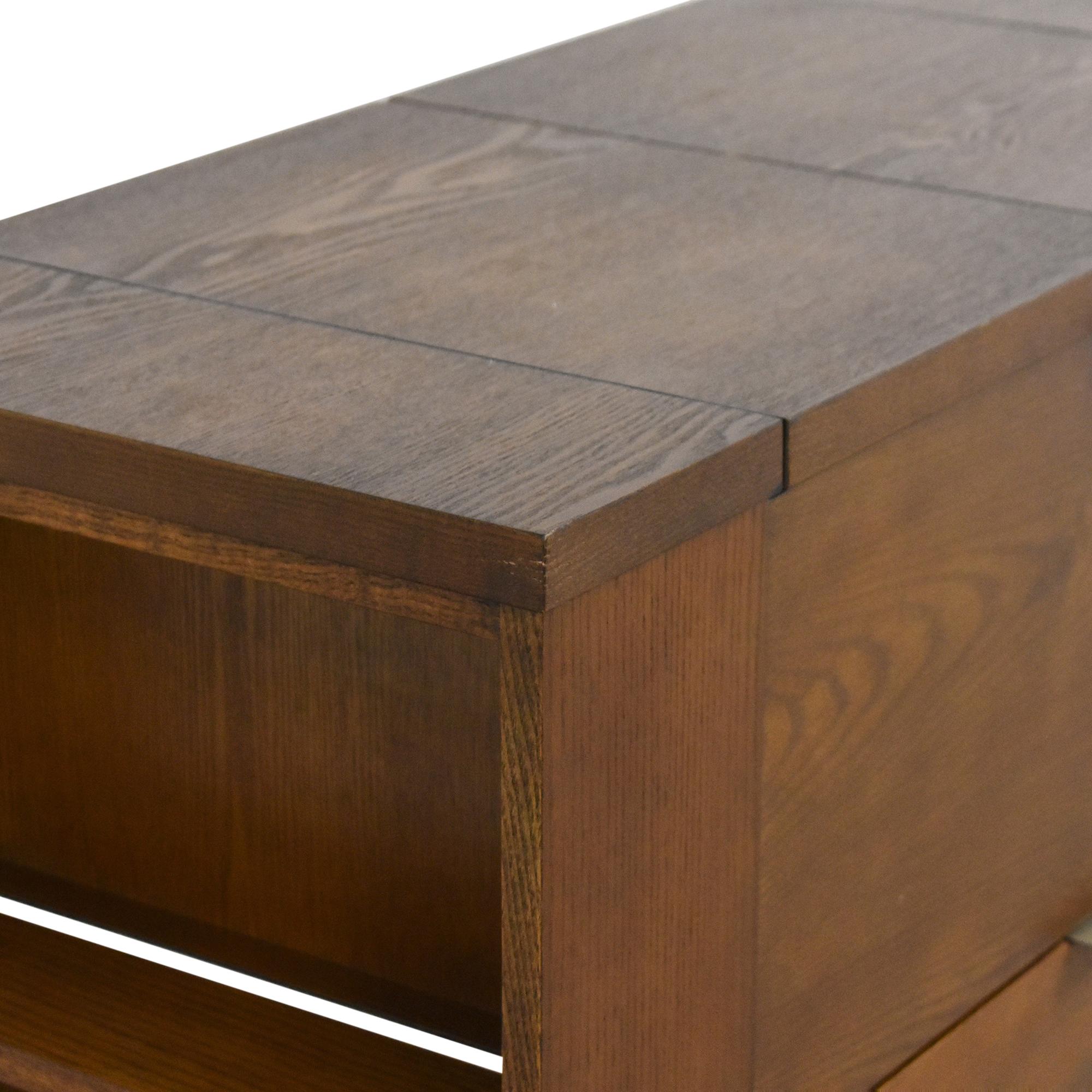 Crate & Barrel Parker Spirits Bourbon Cabinet Crate & Barrel