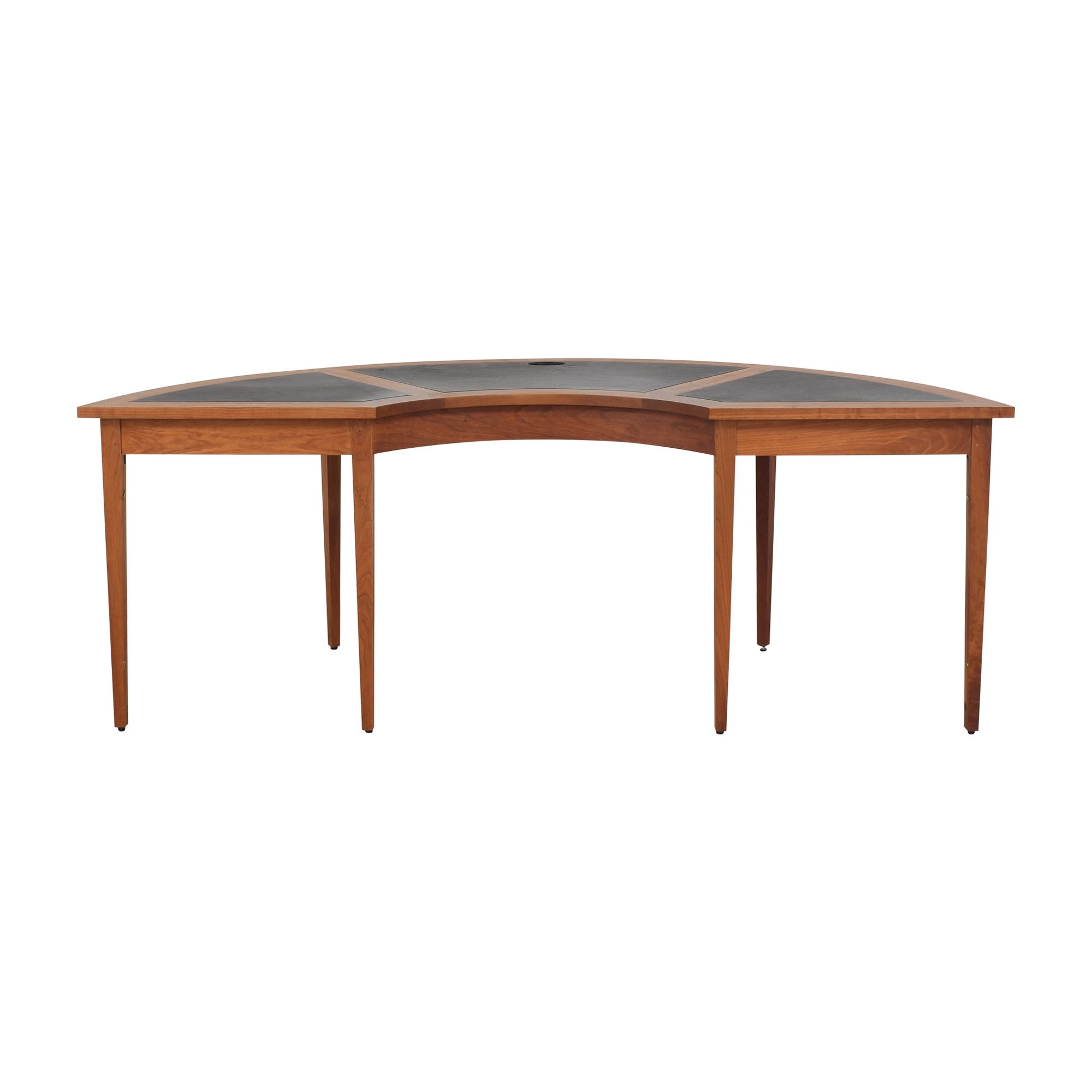 buy Thos. Moser Radius Desk Thos. Moser Tables