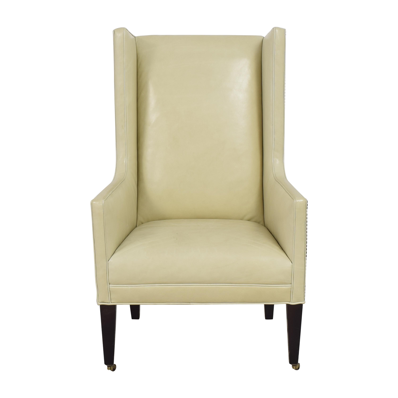 Crate & Barrel Wingback Chair sale