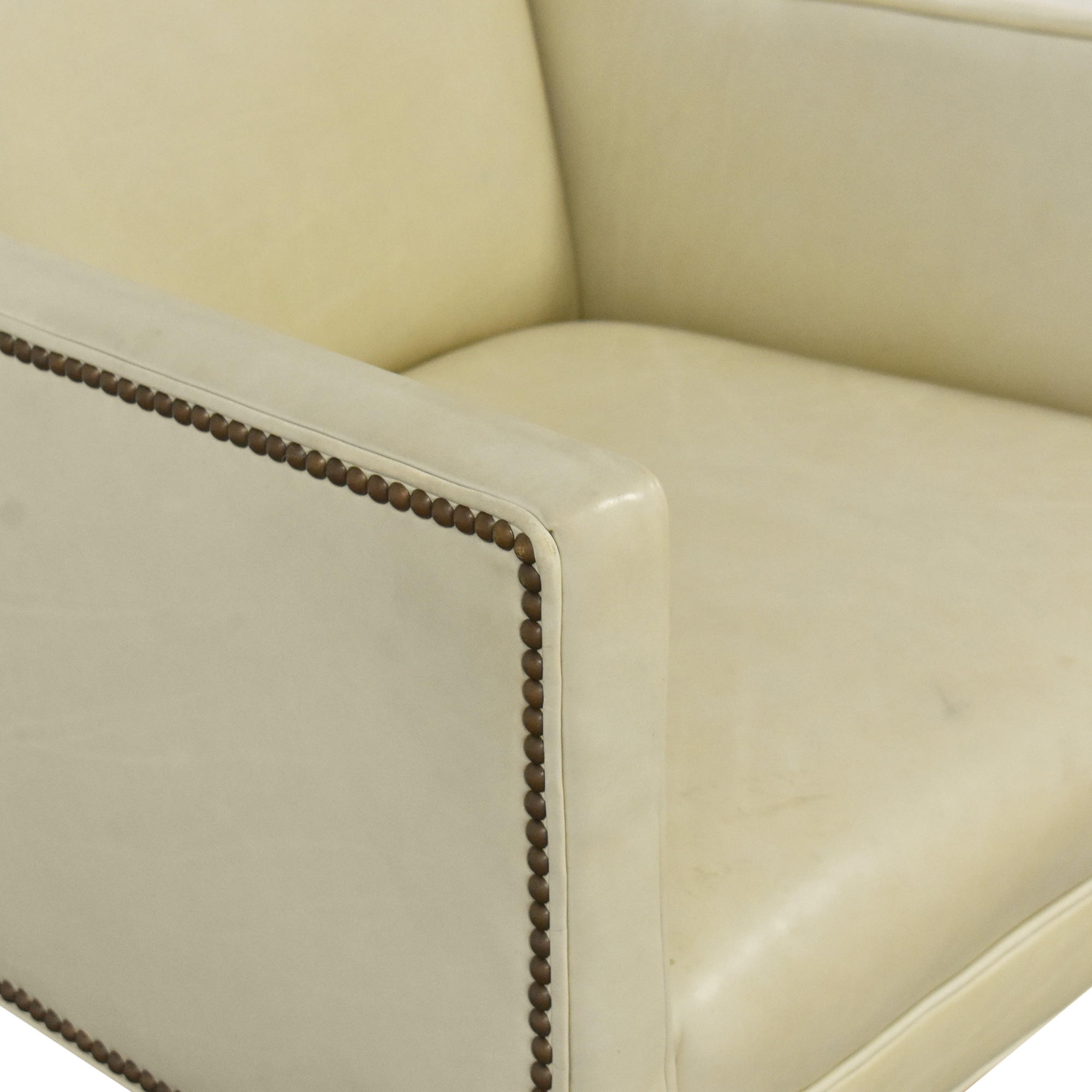 Crate & Barrel Crate & Barrel Wingback Chair pa