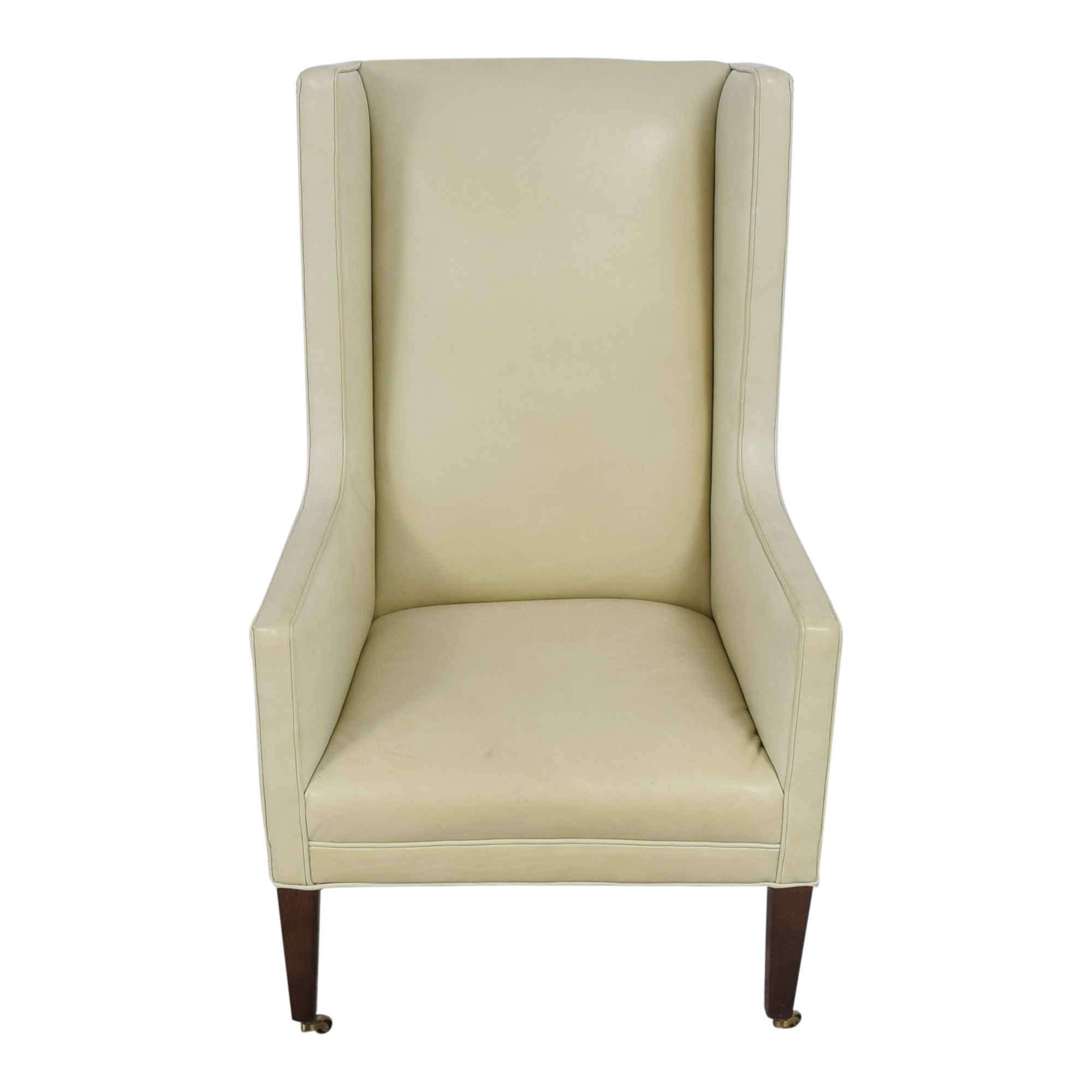 Crate & Barrel Wingback Chair / Chairs