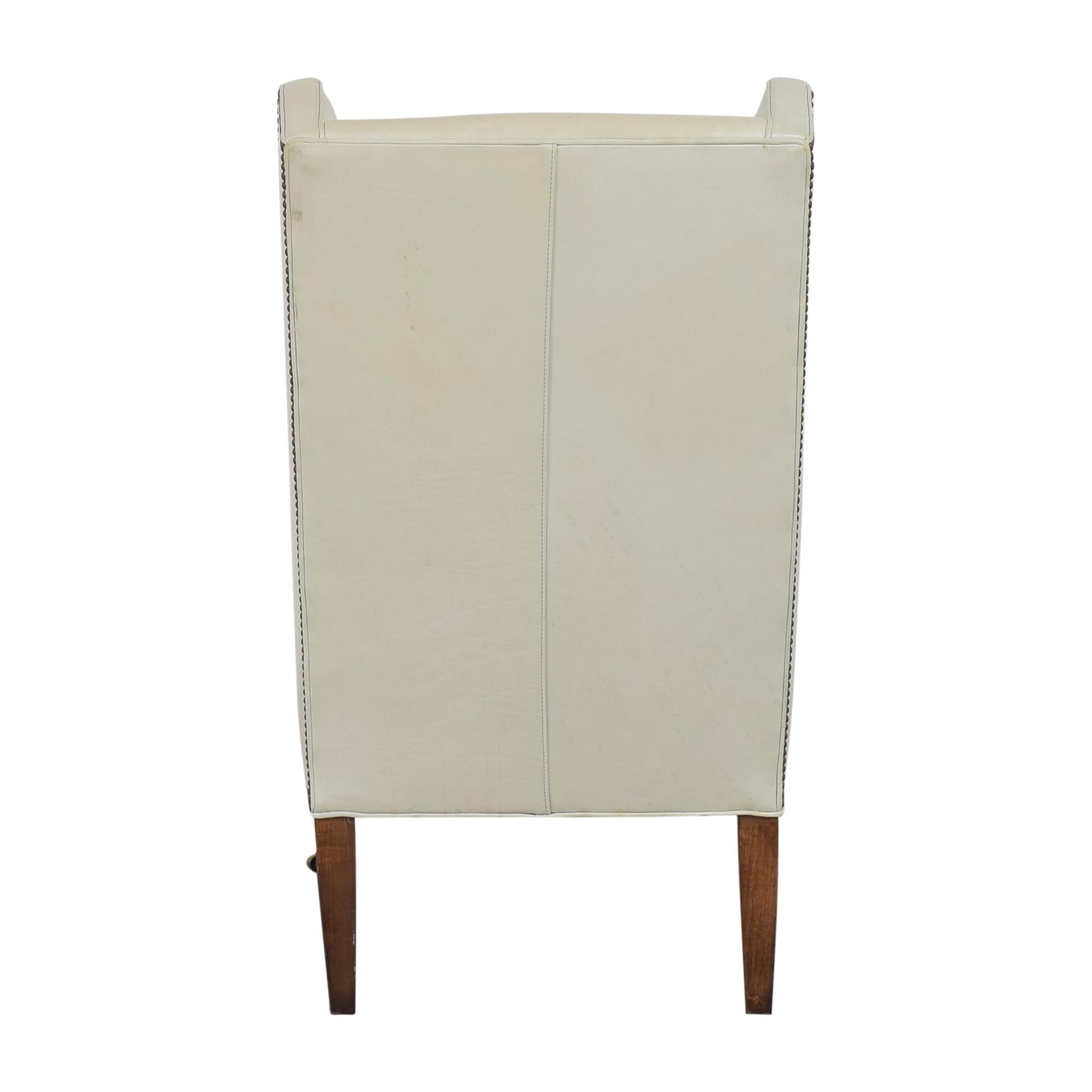 Crate & Barrel Crate & Barrel Wingback Chair nj
