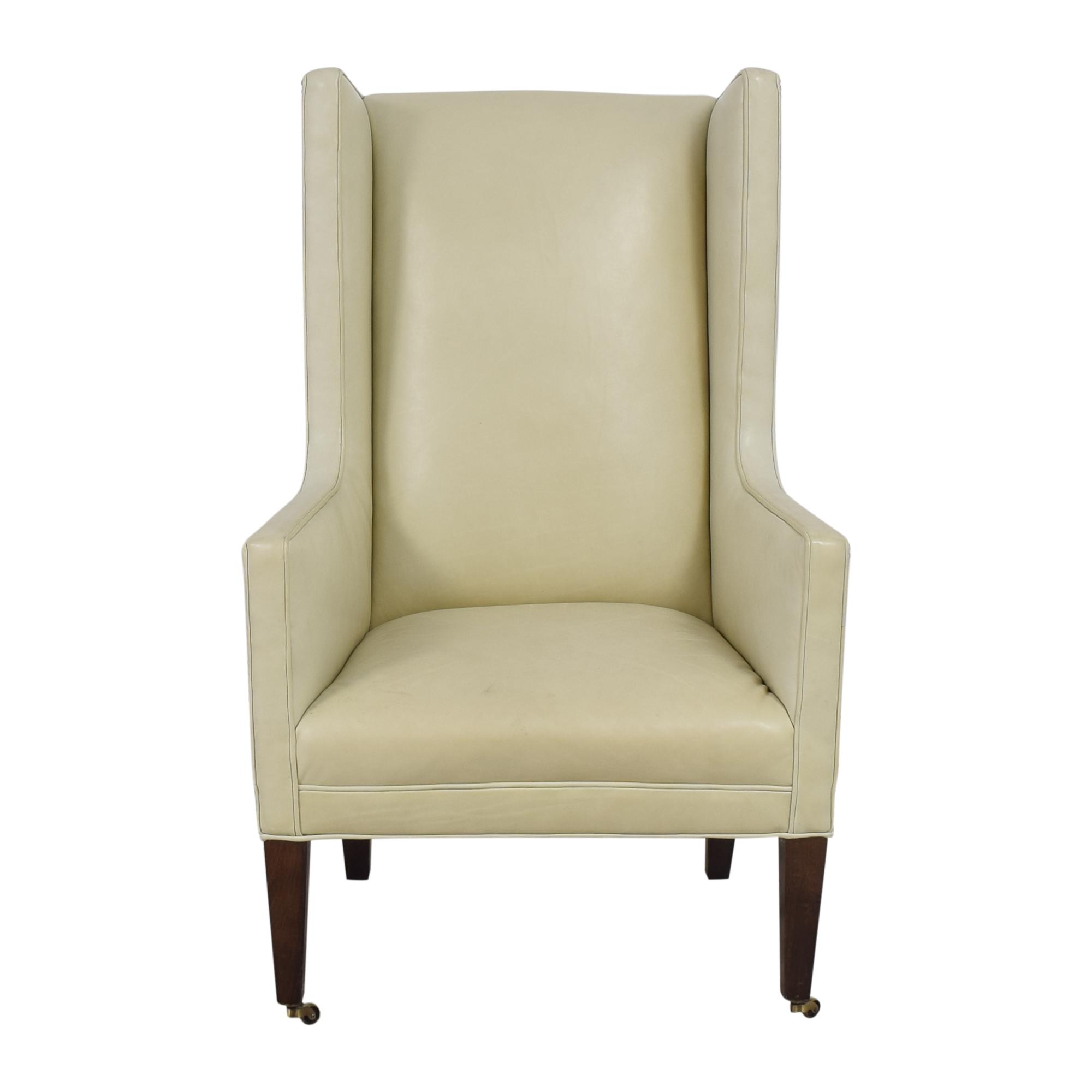 Crate & Barrel Crate & Barrel Wingback Chair dimensions