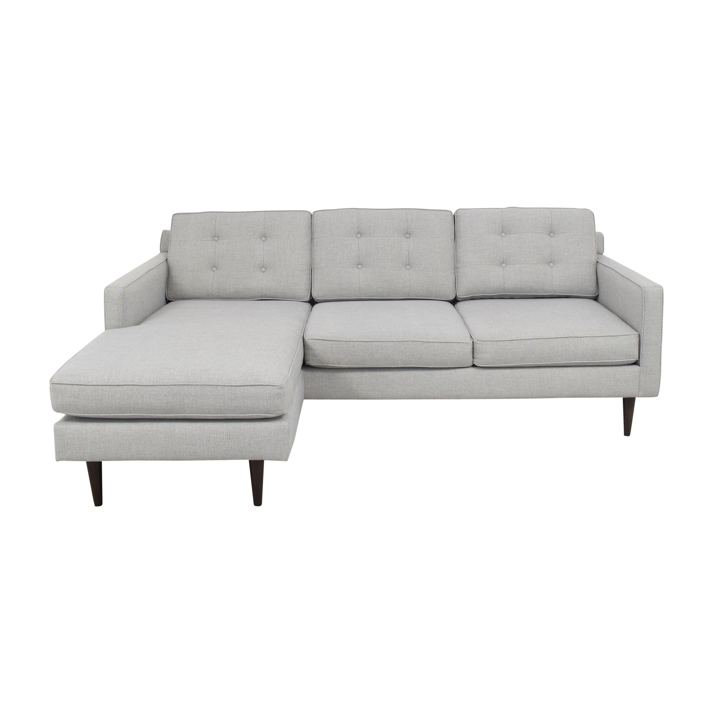 West Elm West Elm Drake Reversible Chaise Sectional Sofa Sofas