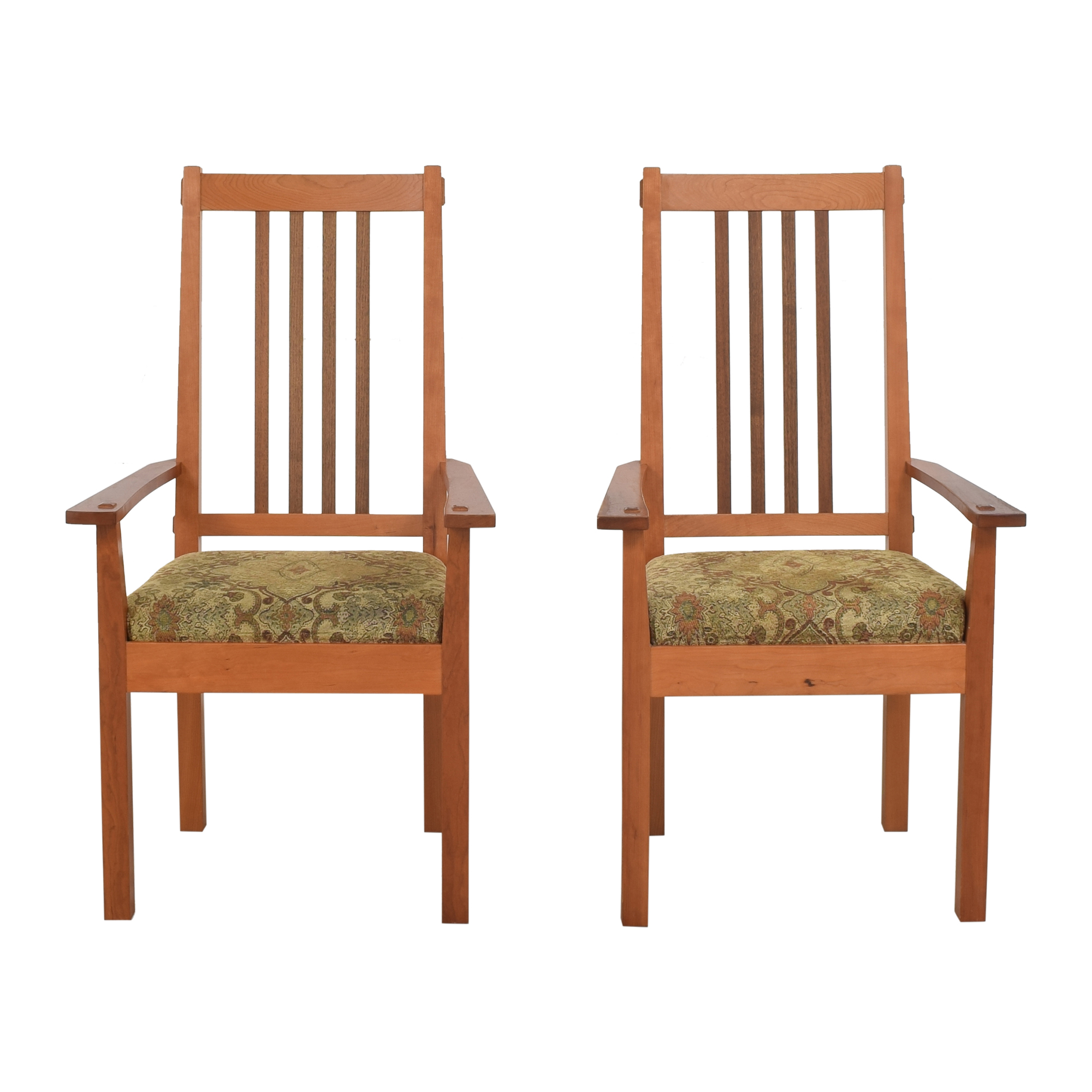 John Lomas John Lomas Mission-Style Dining Arm Chairs Chairs