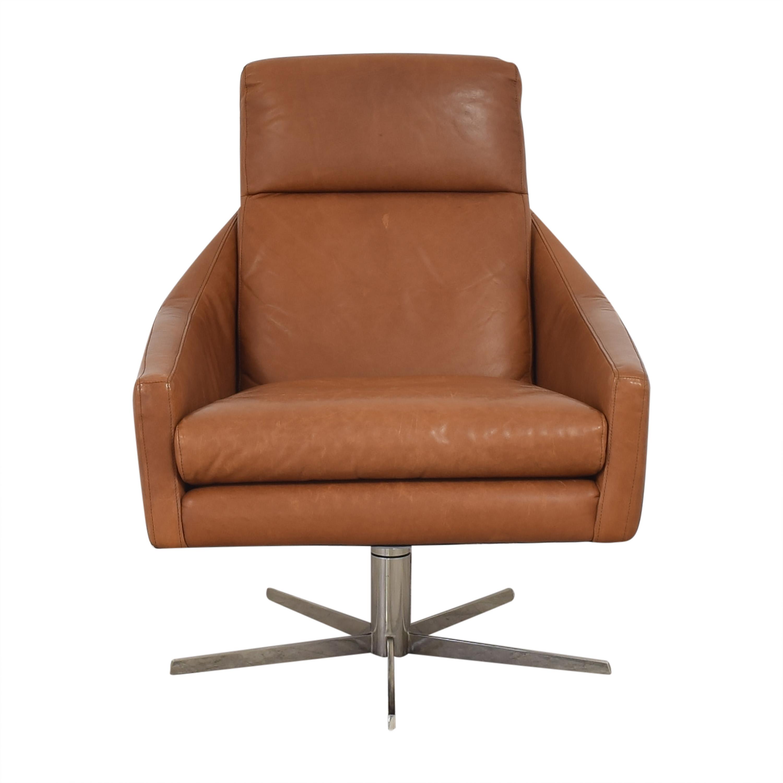 West Elm West Elm Austin Swivel Chair pa
