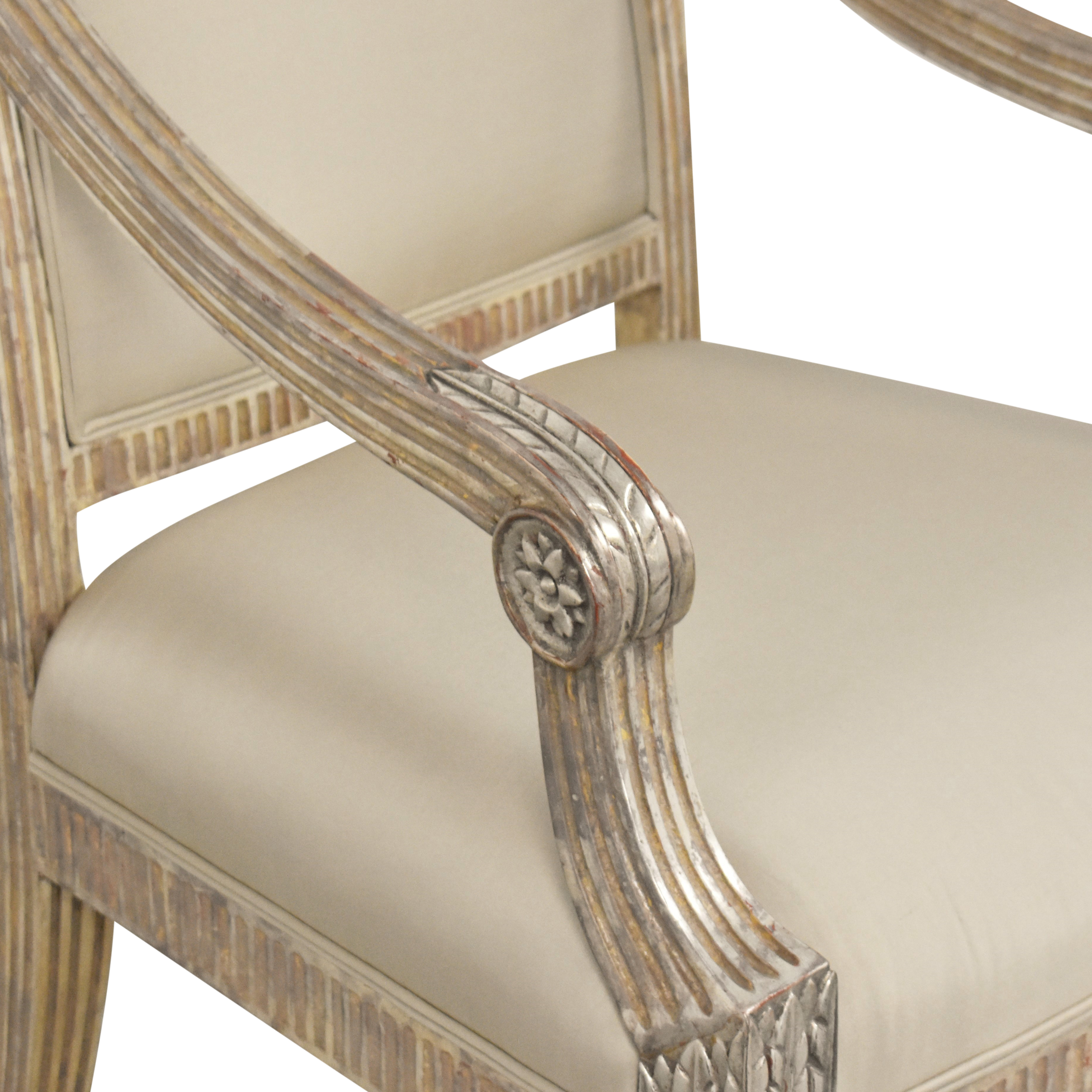 Accent Armchair used
