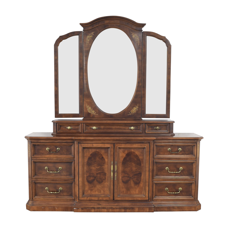 Bernhardt Bernhardt Dresser with Trifold Mirror nyc
