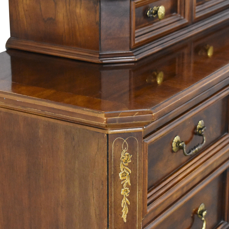 Bernhardt Bernhardt Dresser with Trifold Mirror for sale
