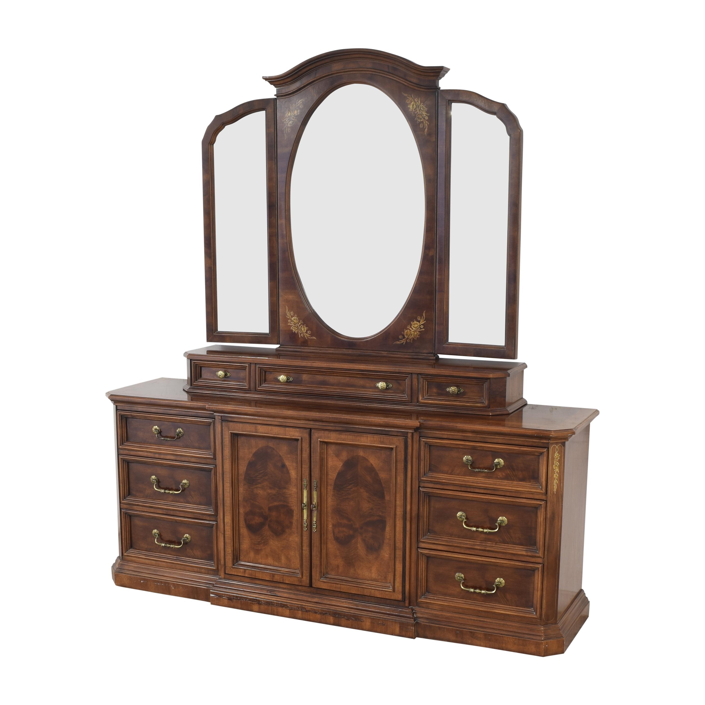 buy Bernhardt Bernhardt Dresser with Trifold Mirror online