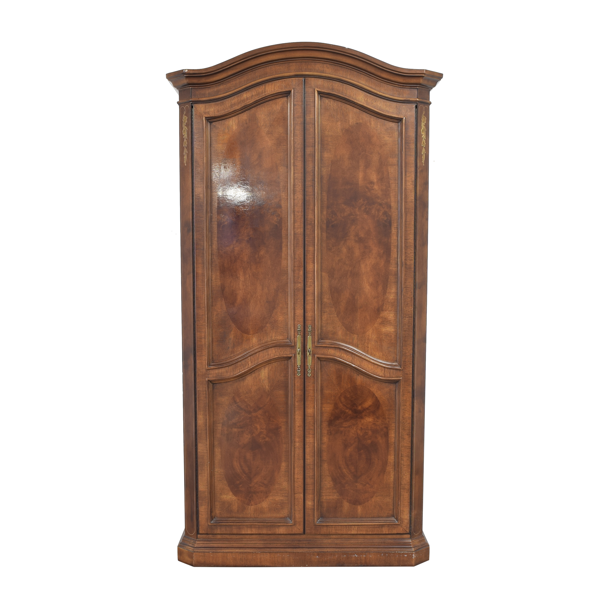 Bernhardt Flair Division Armoire with Mirrors / Wardrobes & Armoires