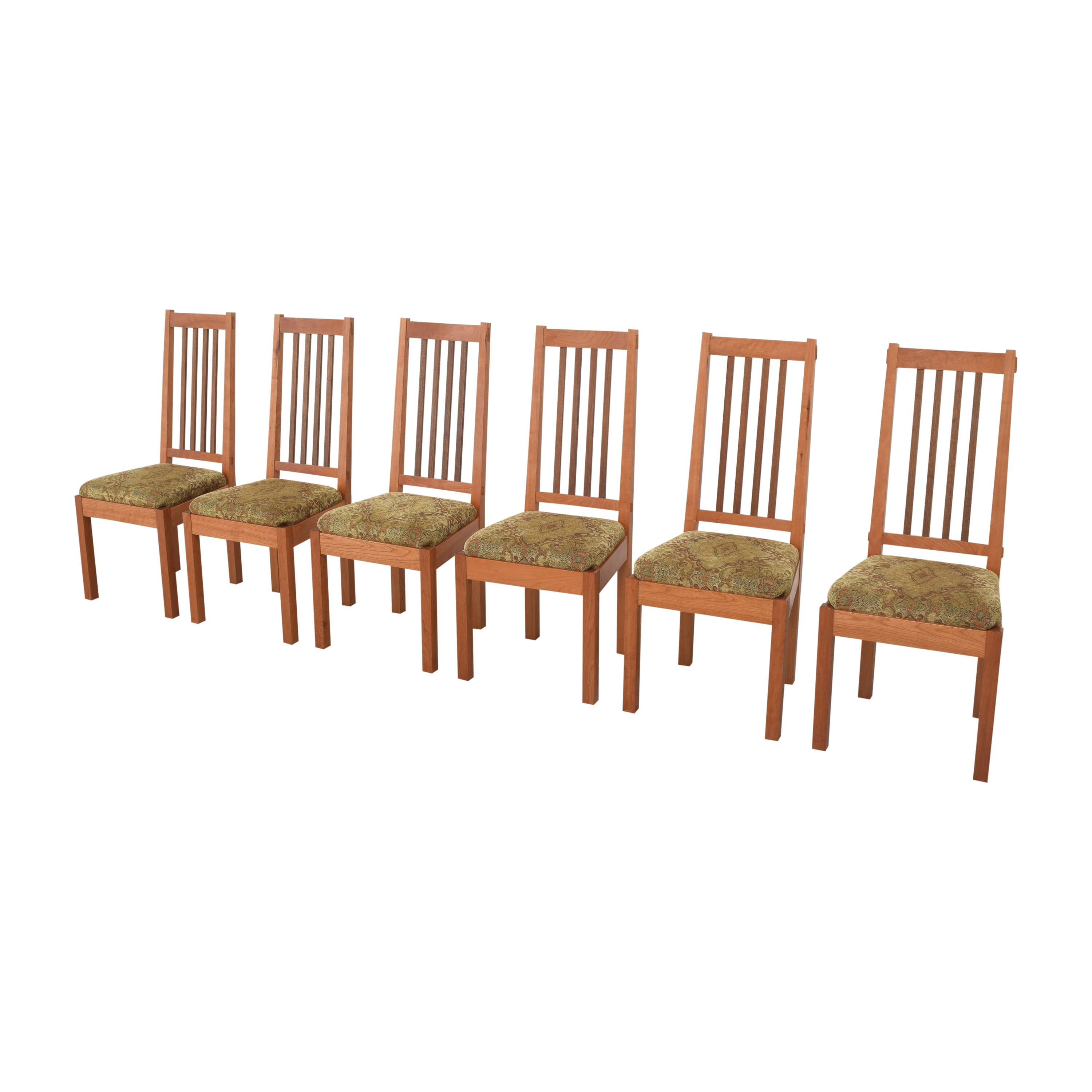 John Lomas John Lomas Mission-Style Dining Side Chairs for sale