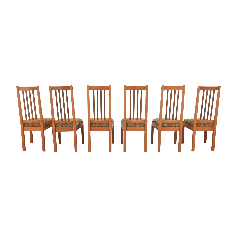 John Lomas John Lomas Mission-Style Dining Side Chairs pa