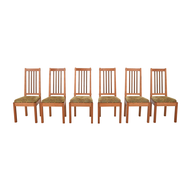John Lomas Mission-Style Dining Side Chairs John Lomas