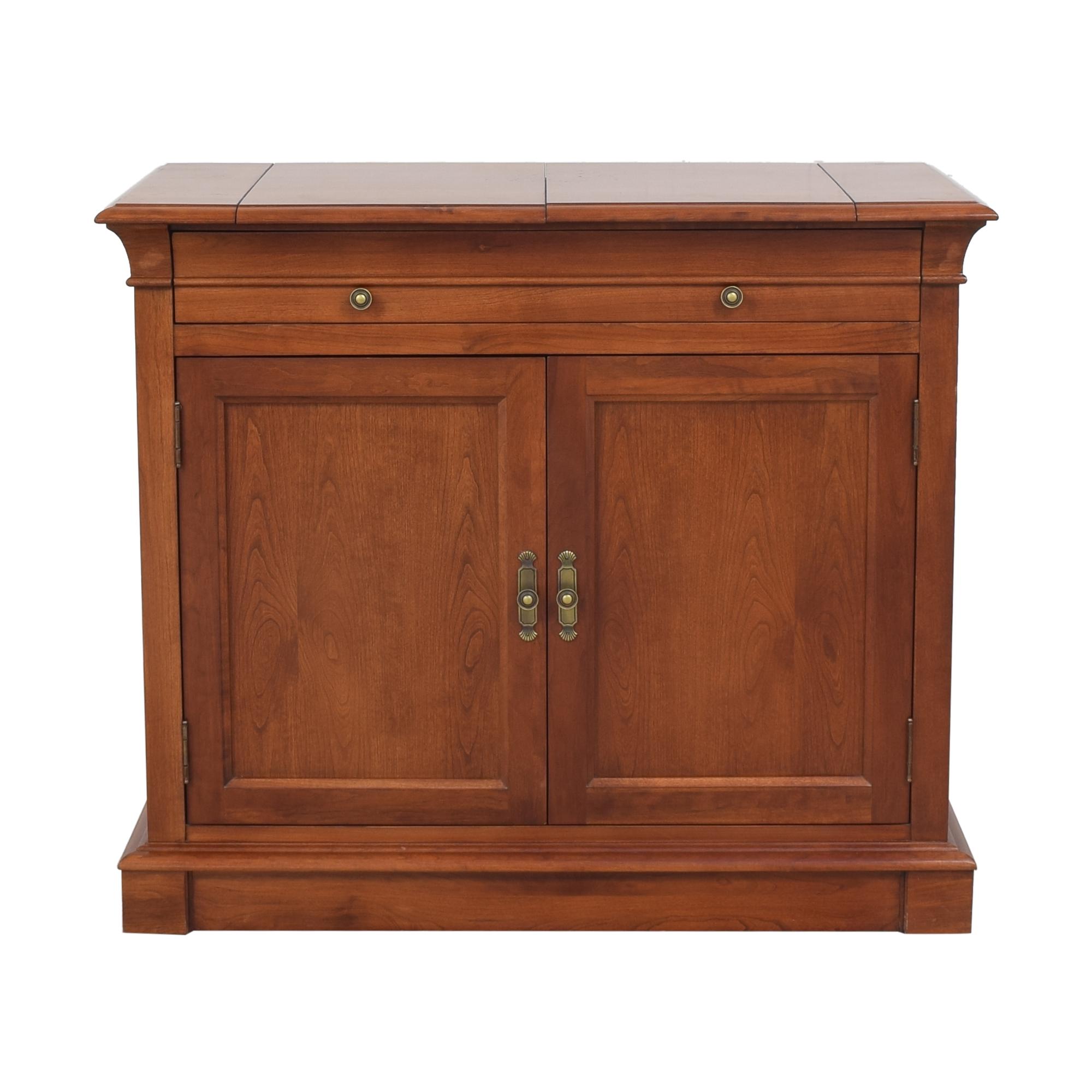 Ethan Allen Medallion Collection Flip Top Server / Cabinets & Sideboards