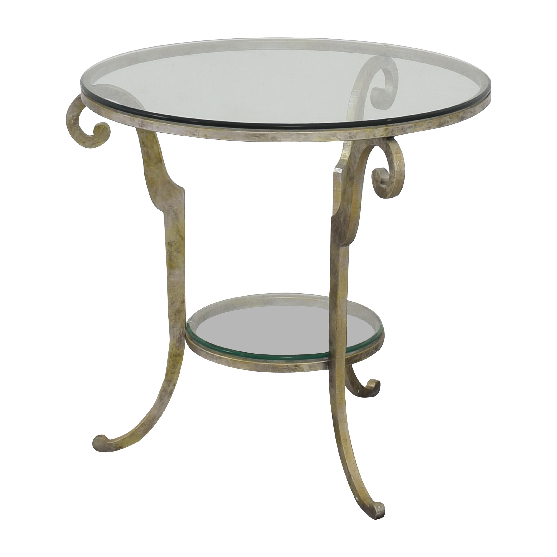 shop Ethan Allen Round End Table Ethan Allen Tables