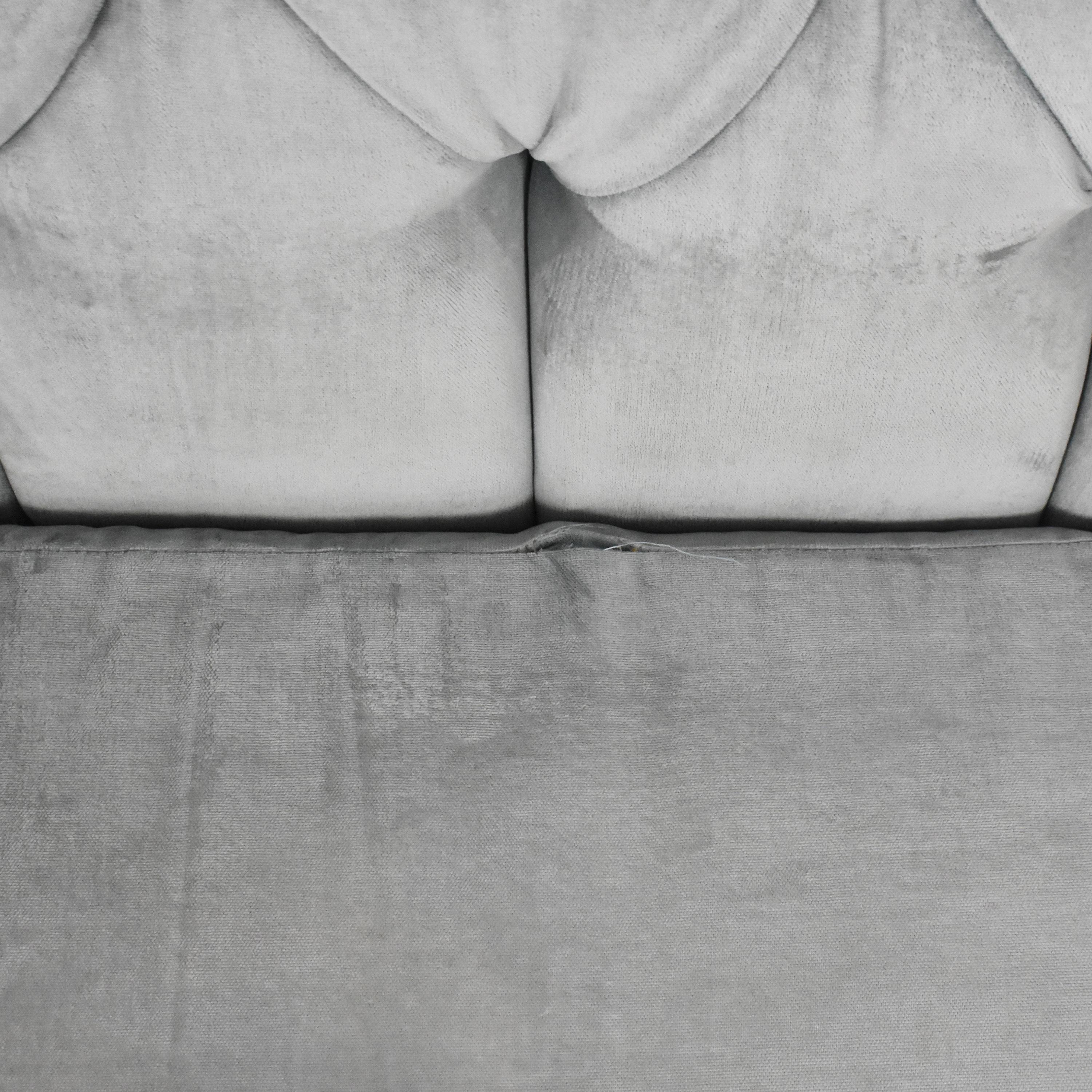 Tufted Upholstered Sofa ct