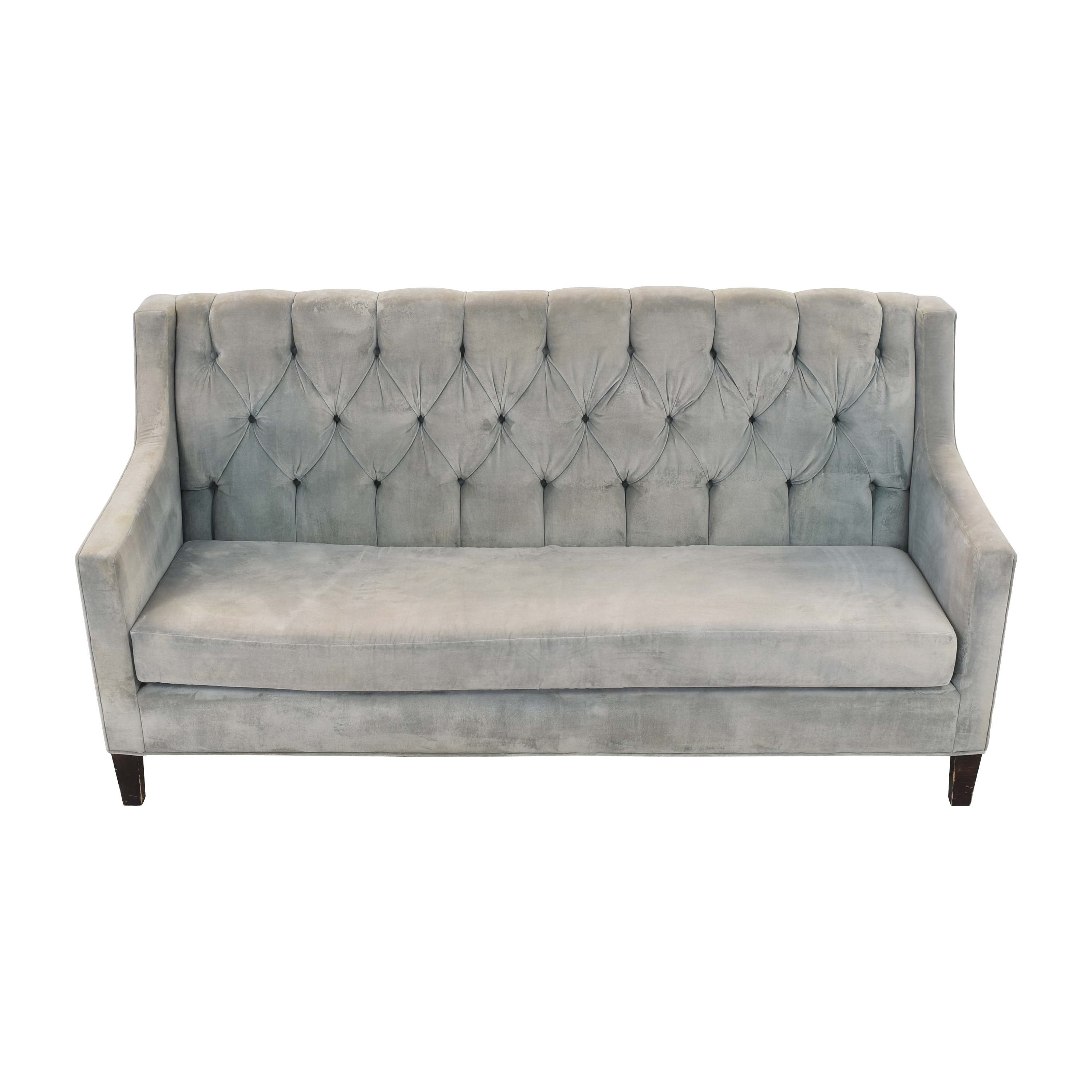 Tufted Upholstered Sofa second hand
