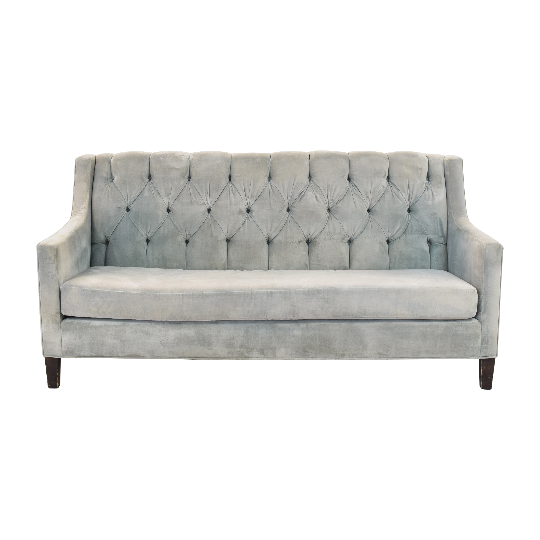 Tufted Upholstered Sofa on sale