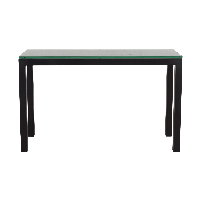 Crate & Barrel Crate & Barrel Parsons Console Table ma