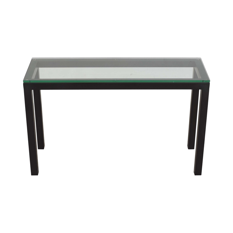shop Crate & Barrel Parsons Console Table Crate & Barrel Tables