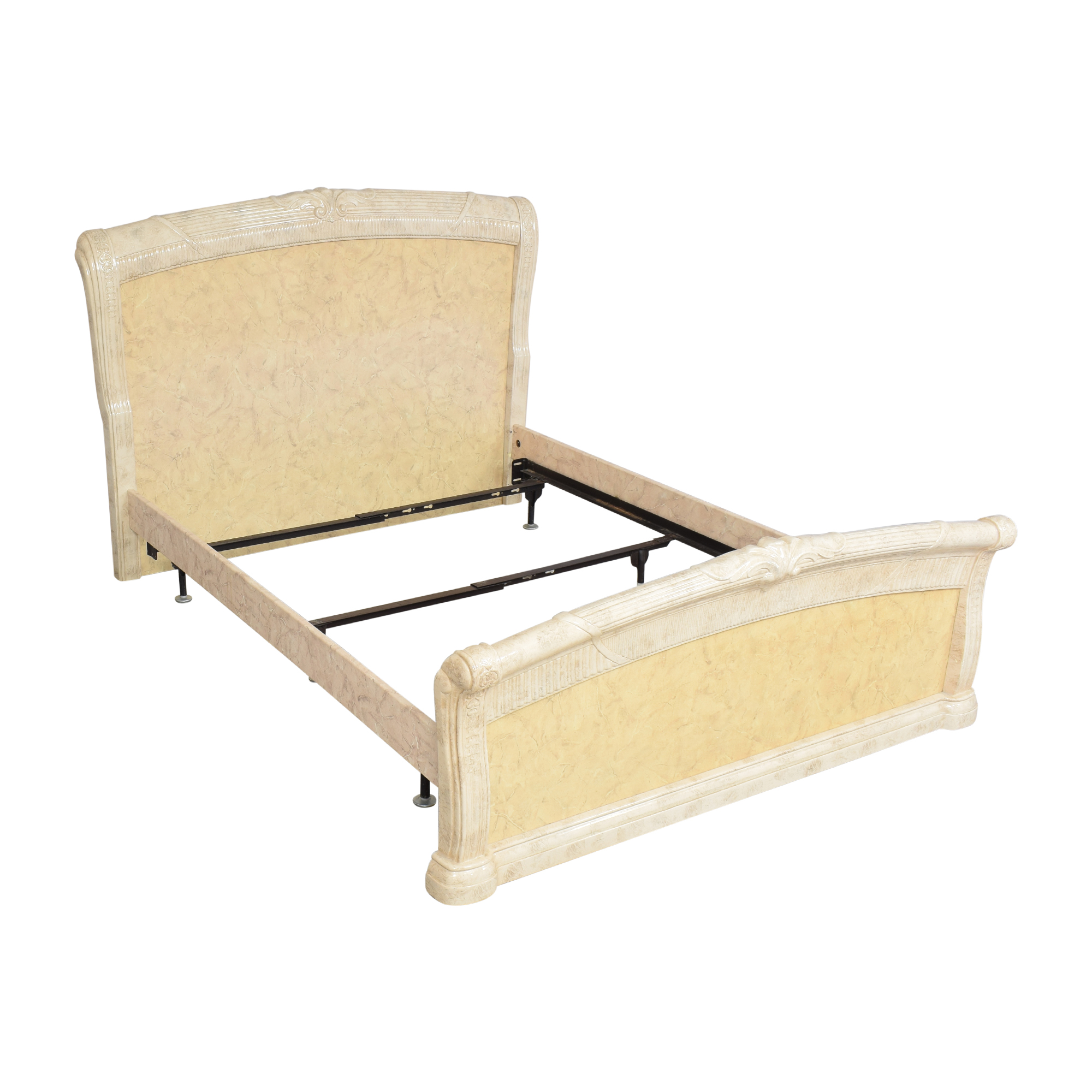 buy Neoclassical-Style Queen Bed  Bed Frames