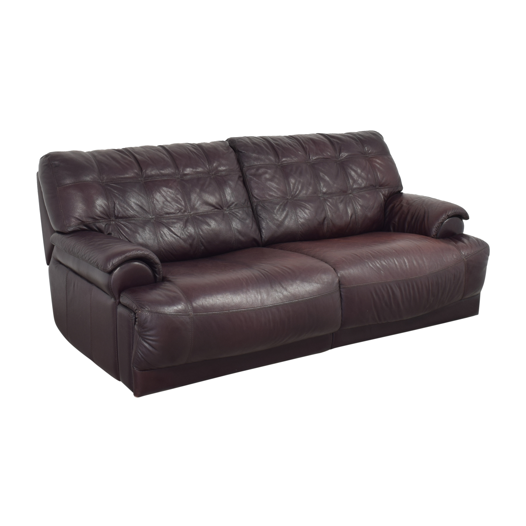 Macy's Macy's Two Cushion Reclining Sofa Sofas