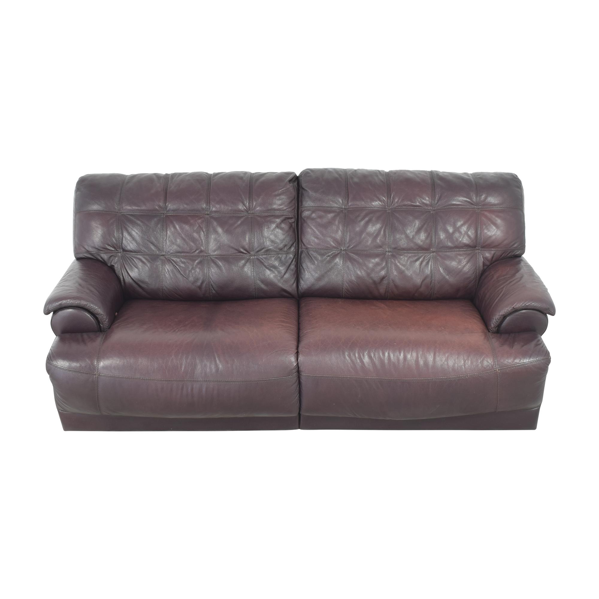 Macy's Two Cushion Reclining Sofa / Sofas