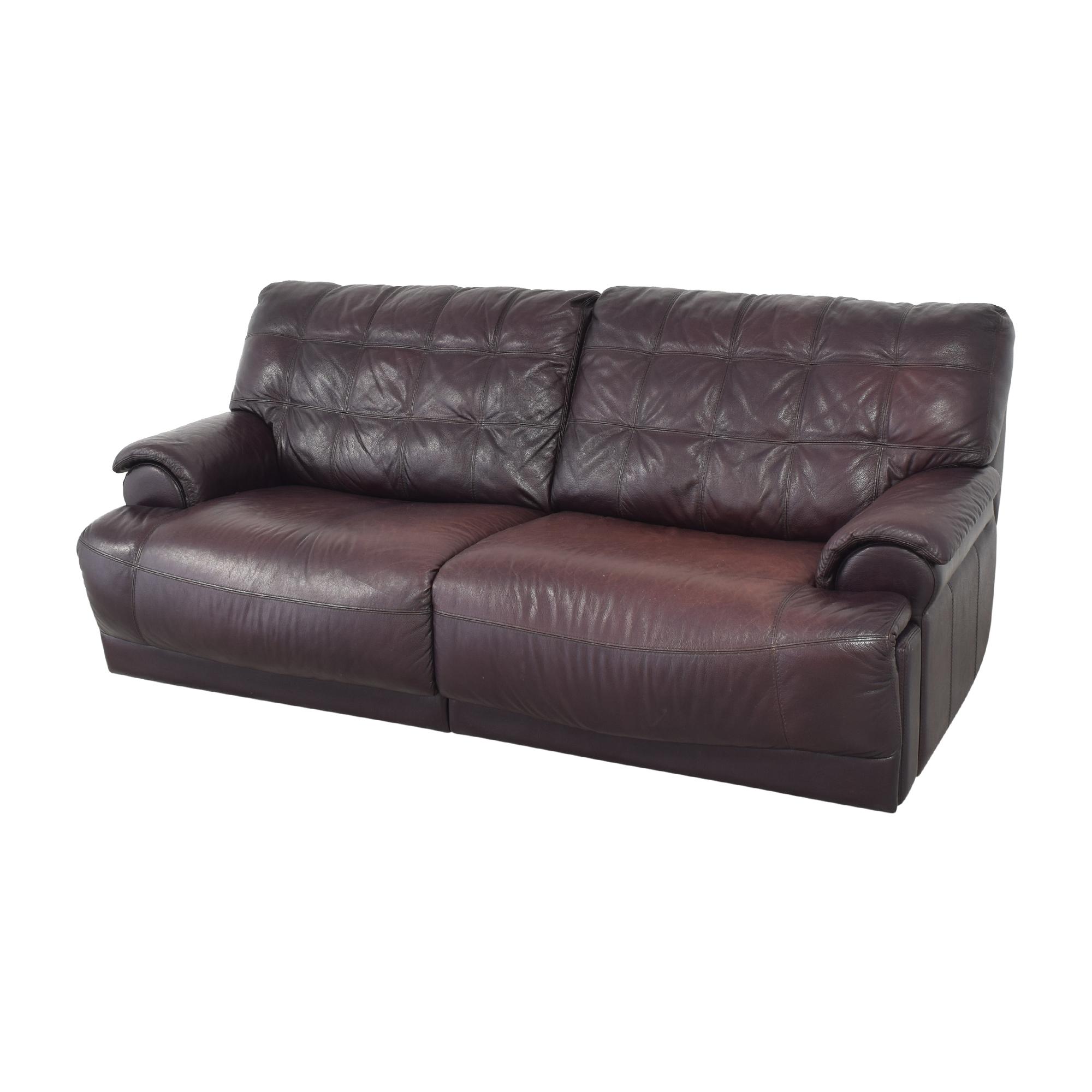 Macy's Two Cushion Reclining Sofa / Classic Sofas