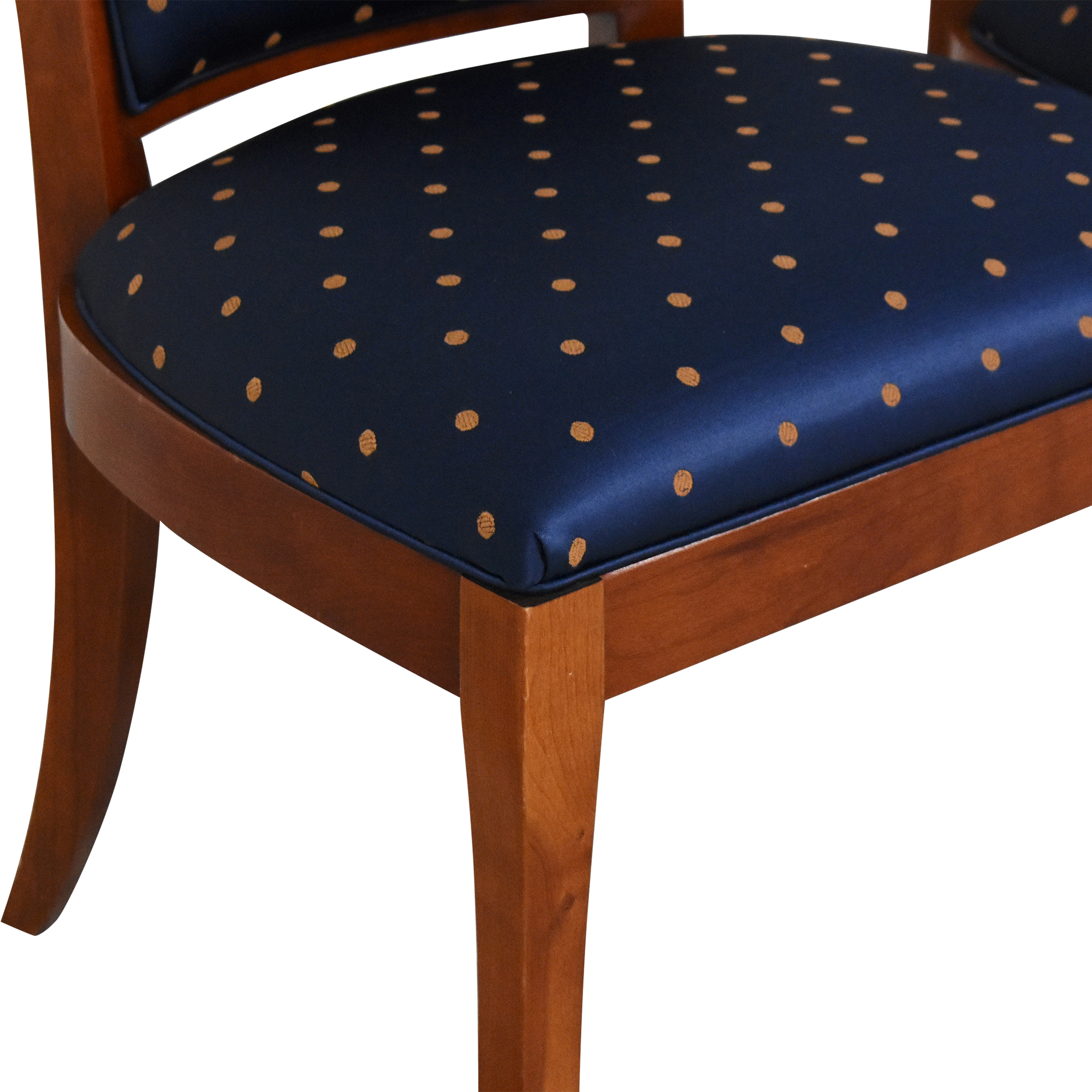 Ethan Allen Ethan Allen Medallion Collection Dining Side Chairs dimensions