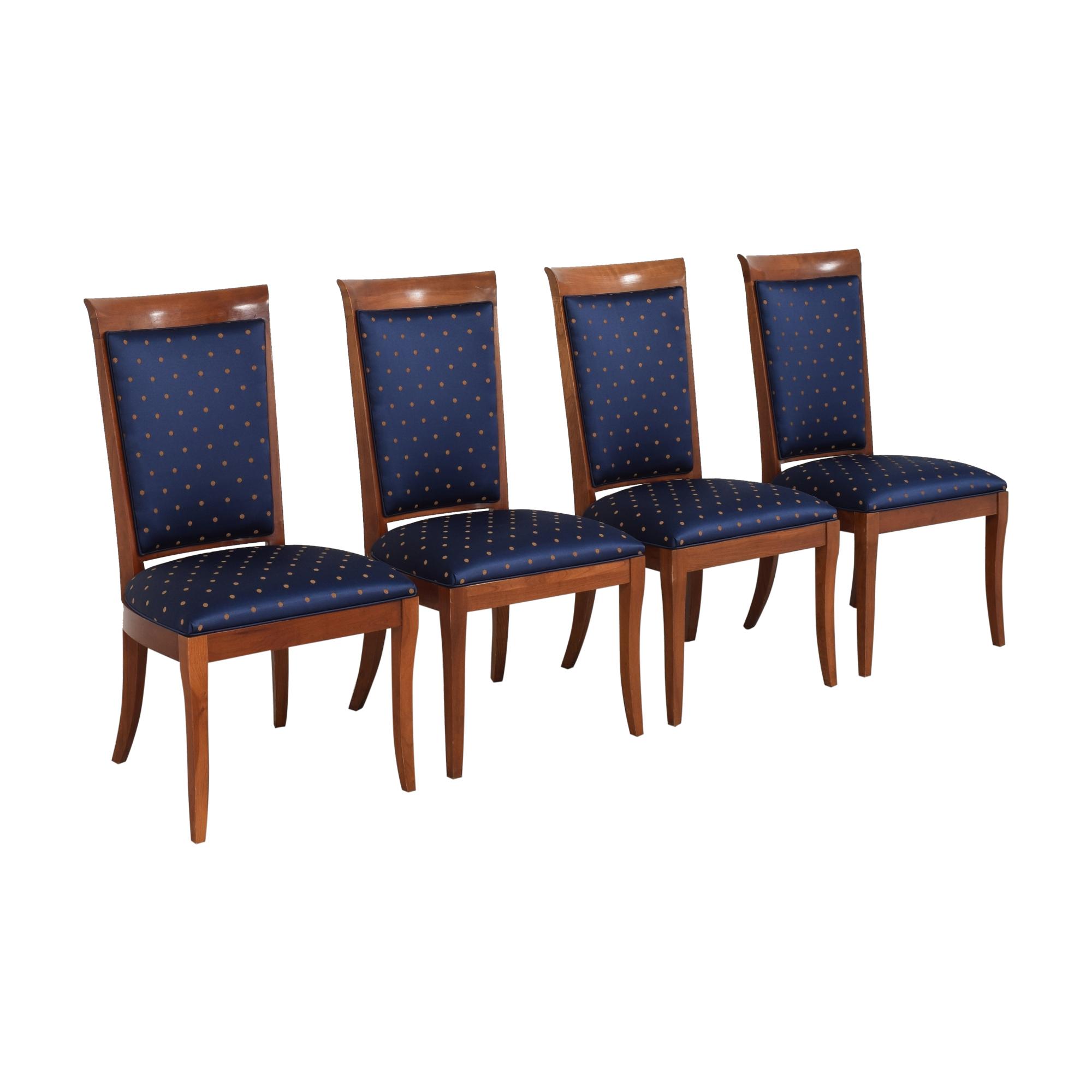 shop Ethan Allen Medallion Collection Dining Side Chairs Ethan Allen Dining Chairs