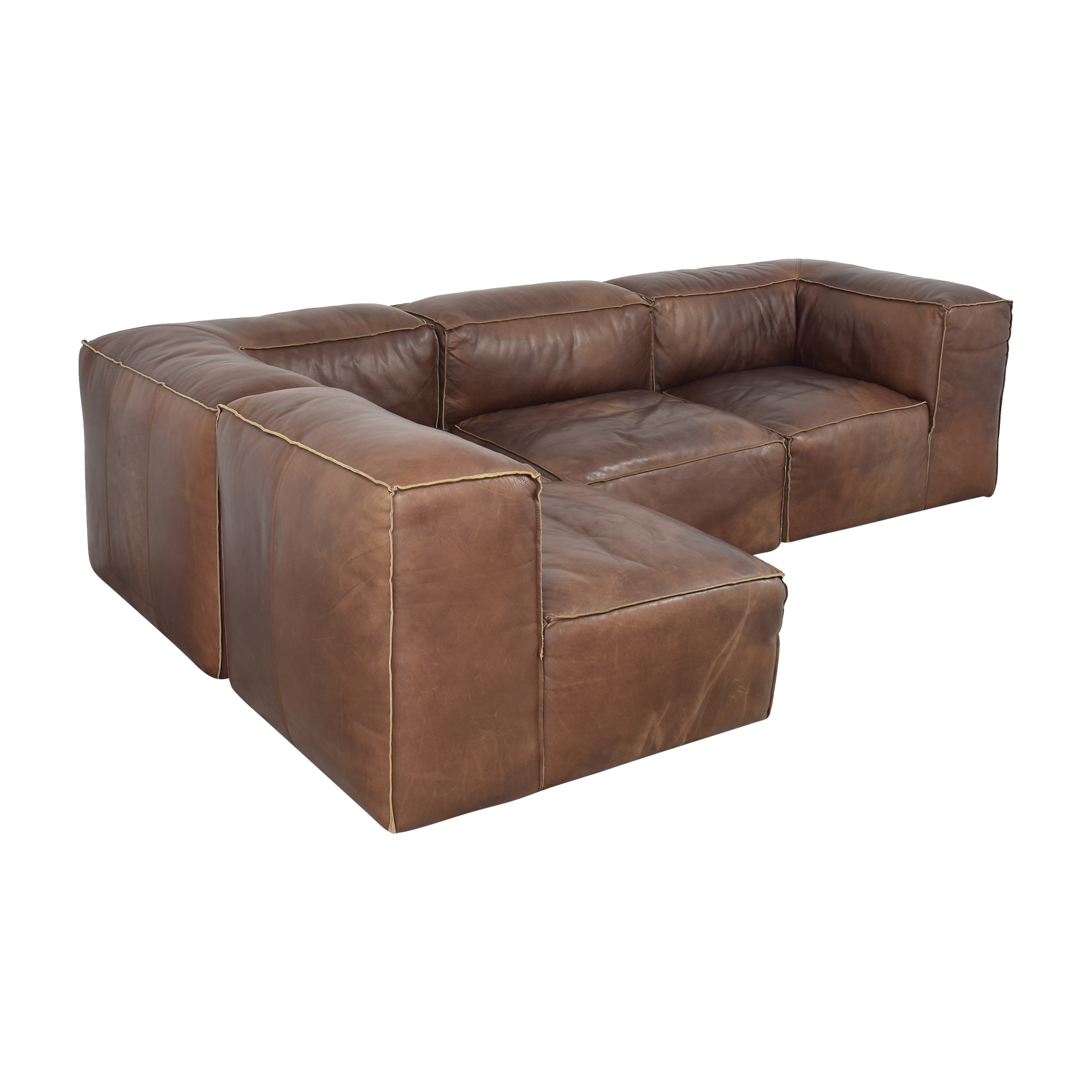 Restoration Hardware Restoration Hardware Fulham Sectional ct