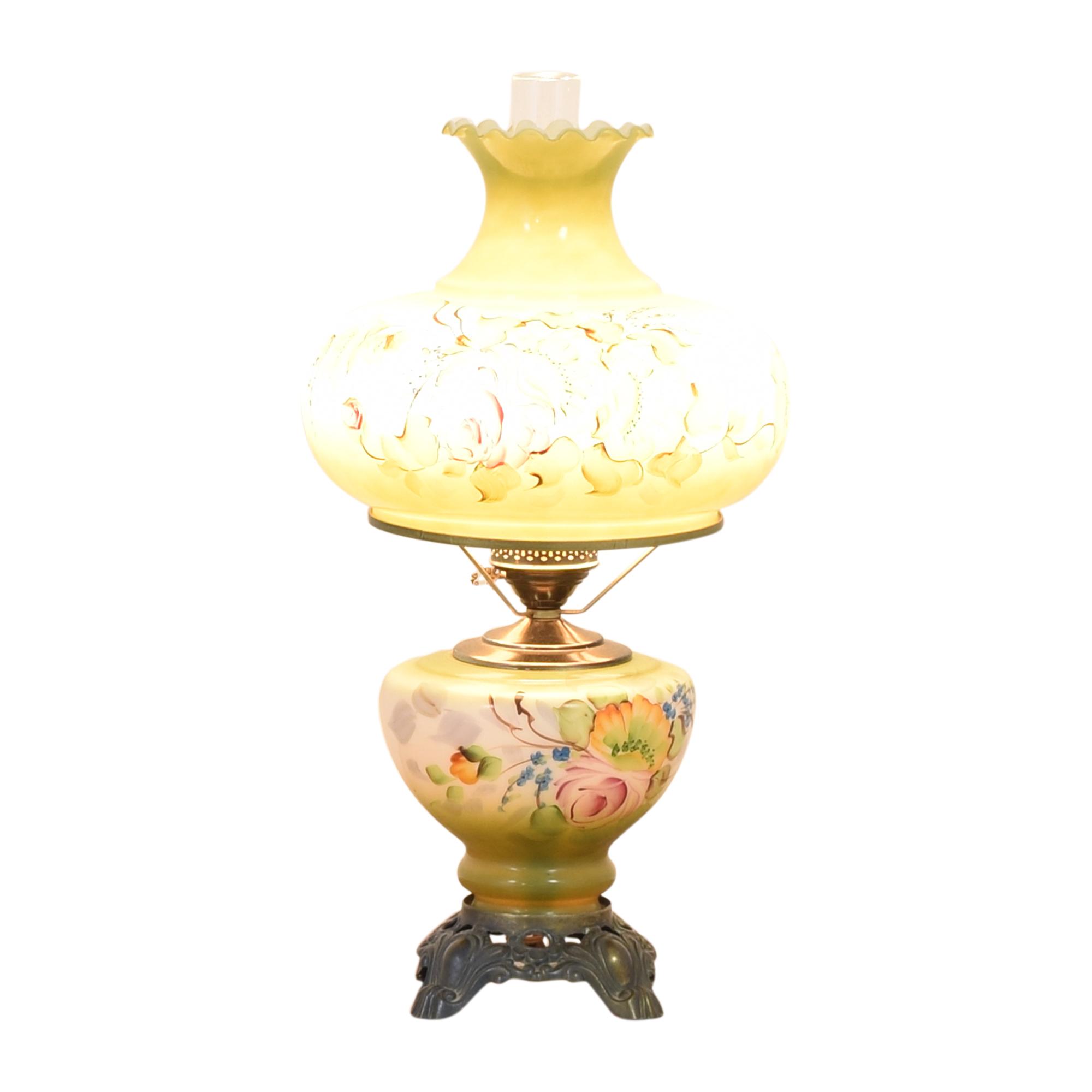 Floral Vintage Lamp Lamps