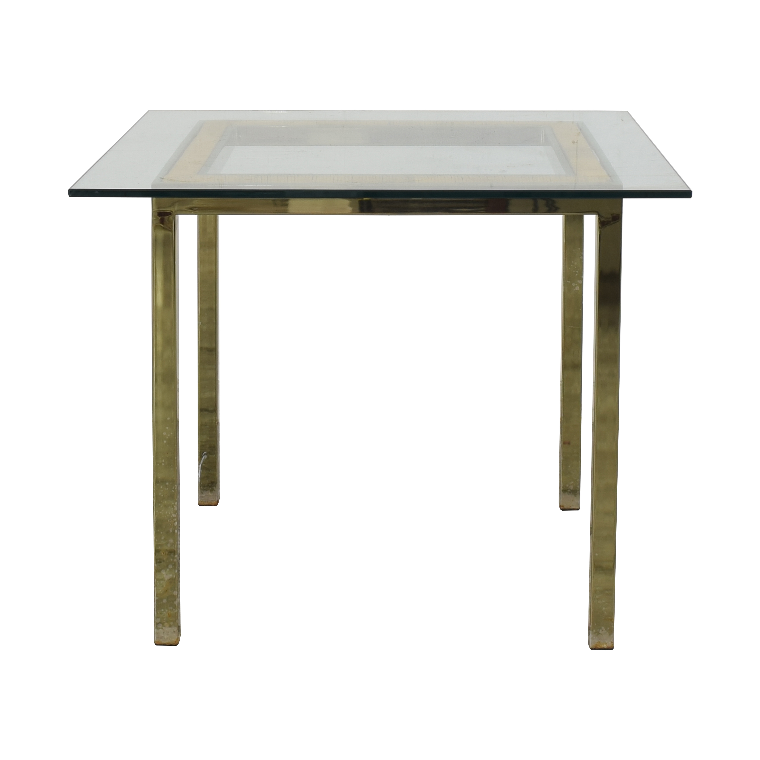 Square Mid Century Modern Dining Table discount