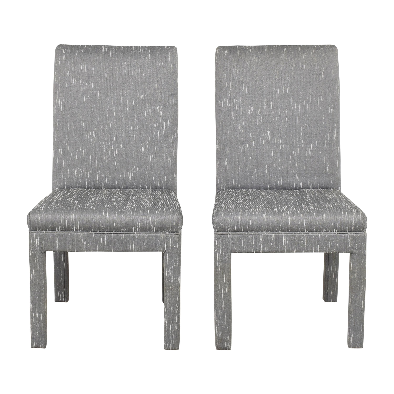 buy Shenandoah Furniture Upholstered Parsons Dining Chairs Shenandoah Furniture Chairs