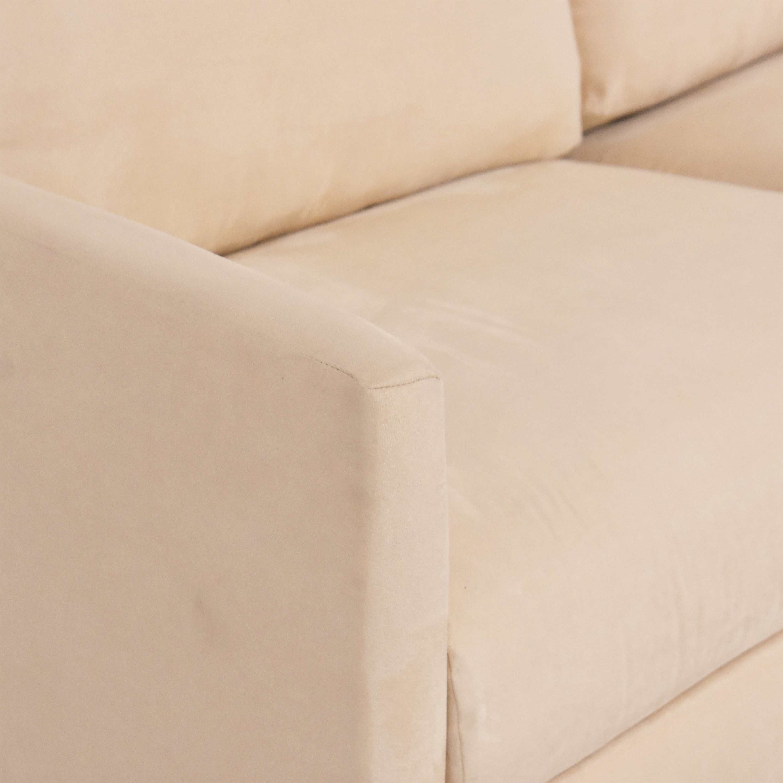 Two Cushion Sleeper Sofa dimensions
