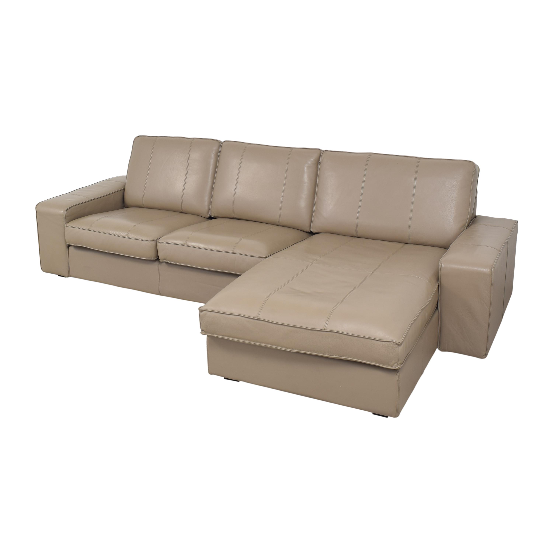 IKEA IKEA KIVIK Sectional Sofa with Chaise second hand