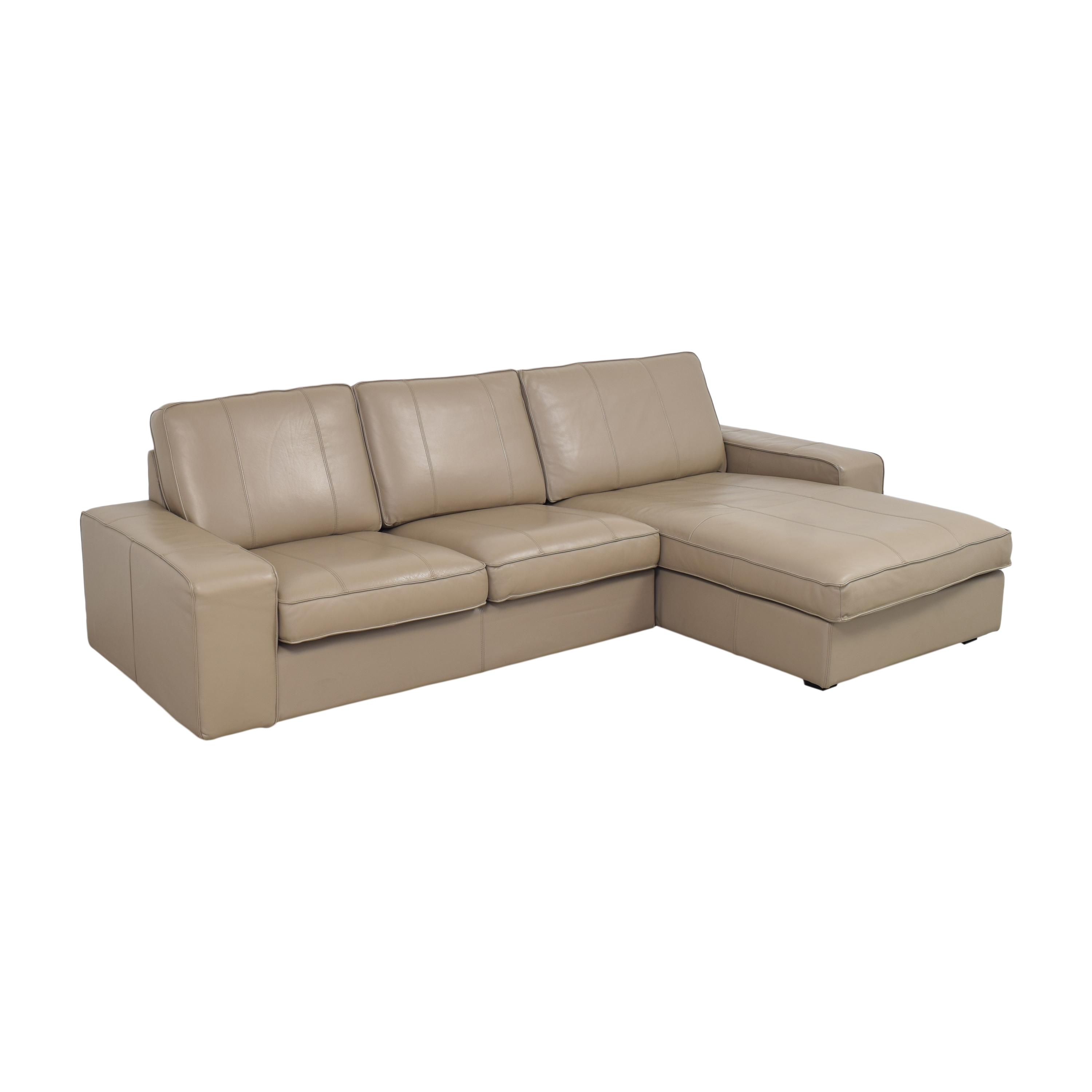 IKEA KIVIK Sectional Sofa with Chaise / Sectionals