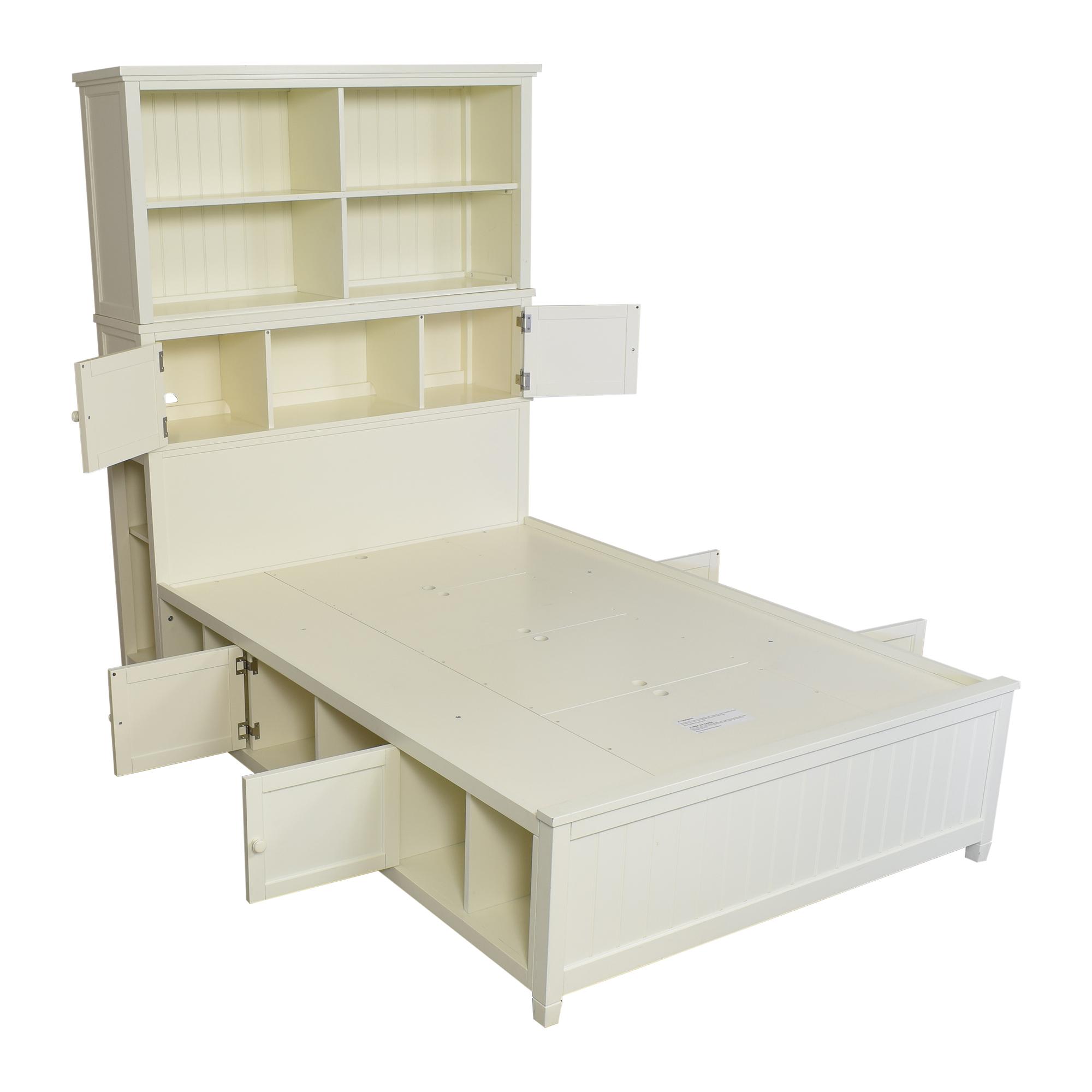 Pottery Barn Teen Pottery Barn Teen Beadboard Storage Full Bed on sale