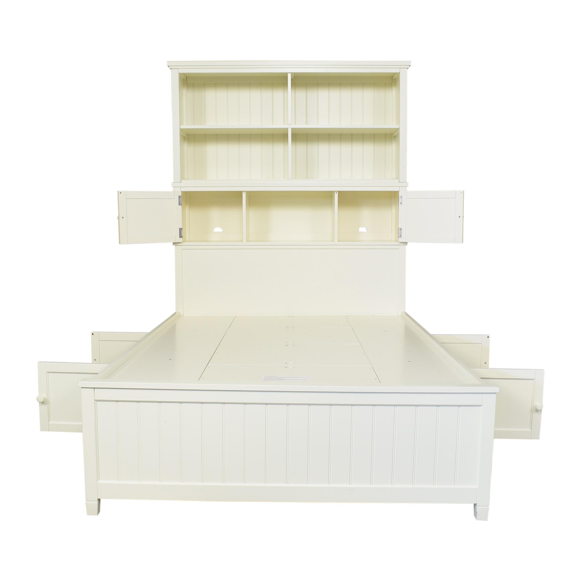 Pottery Barn Teen Pottery Barn Teen Beadboard Storage Full Bed for sale